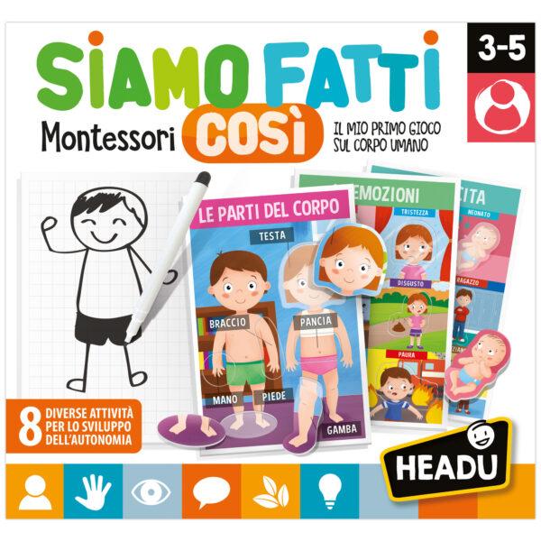 Headu Siamo fatti così Montessori!