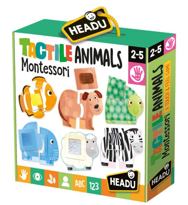 Headu Tactile Animals Montessori