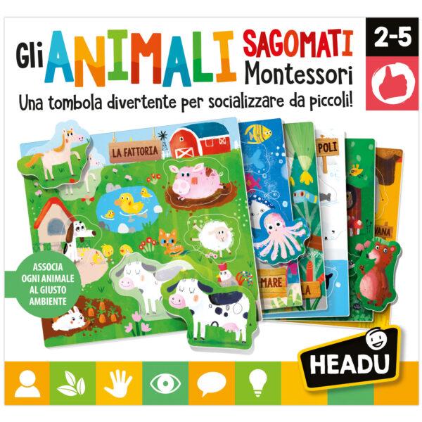 Headu Gli Animali Sagomati Montessori