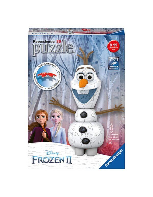 Ravensburger Puzzle 3D Olaf Frozen