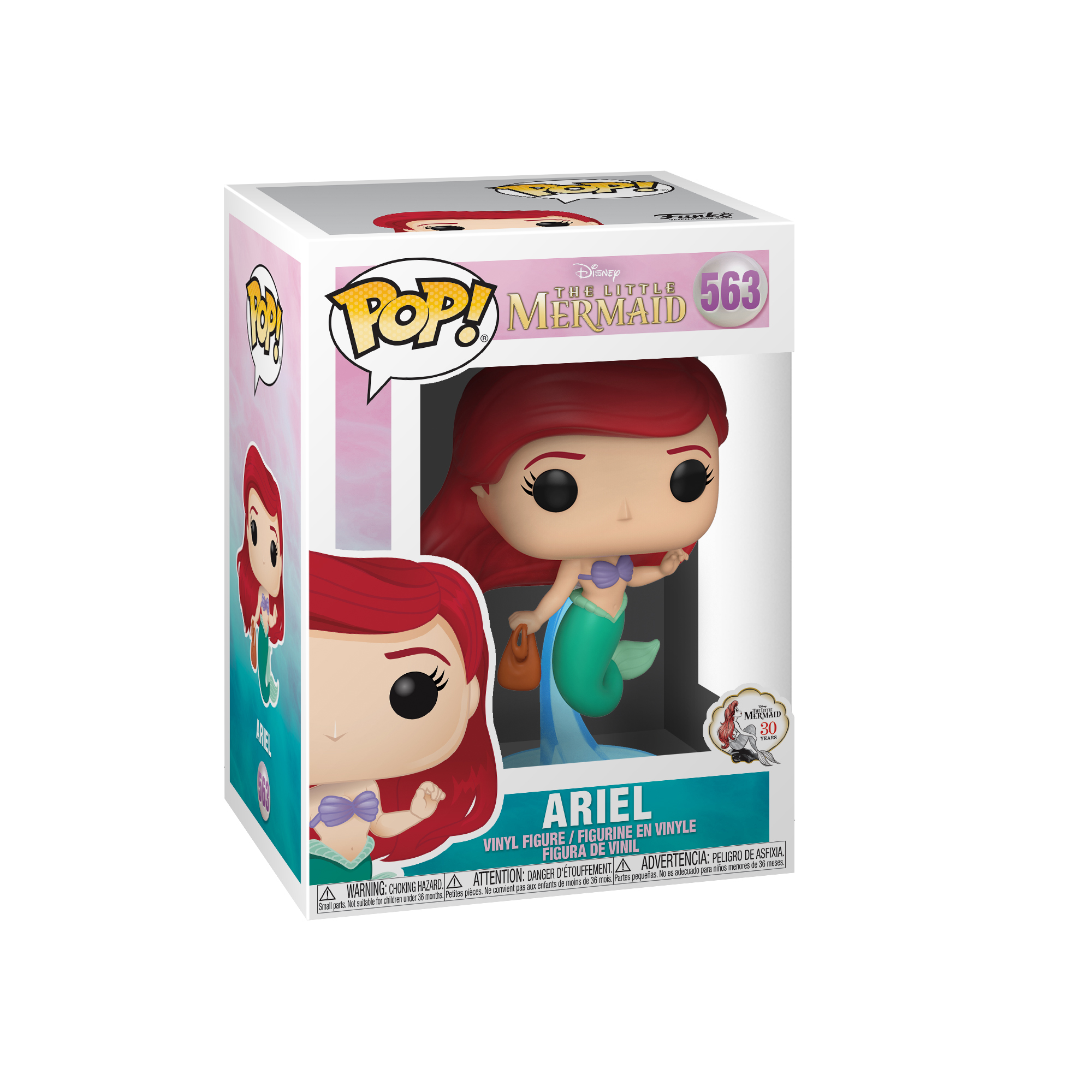 FUNKO POP Disney: Little Mermaid - Ariel w/bag