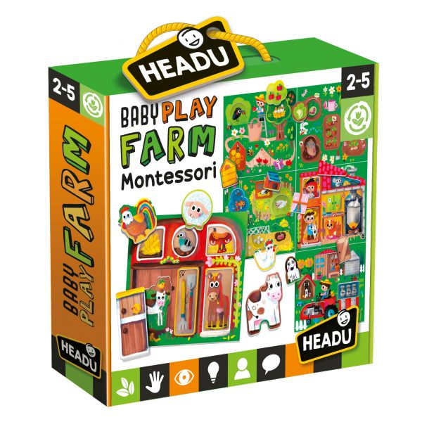Headu Baby Play Farm Montessori