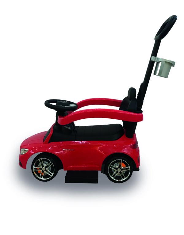 Biemme Mercedes Push Car Rossa