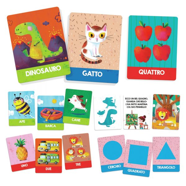 Headu Flashcards Montessori Prime Scoperte