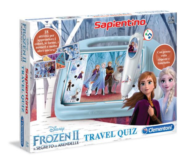 Clementoni Sapientino Travel Quiz Disney Frozen 2