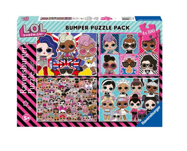 Ravensburger Bumperpack LOL 4 x 100