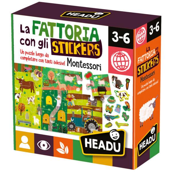 Headu La Fattoria con gli Stickers