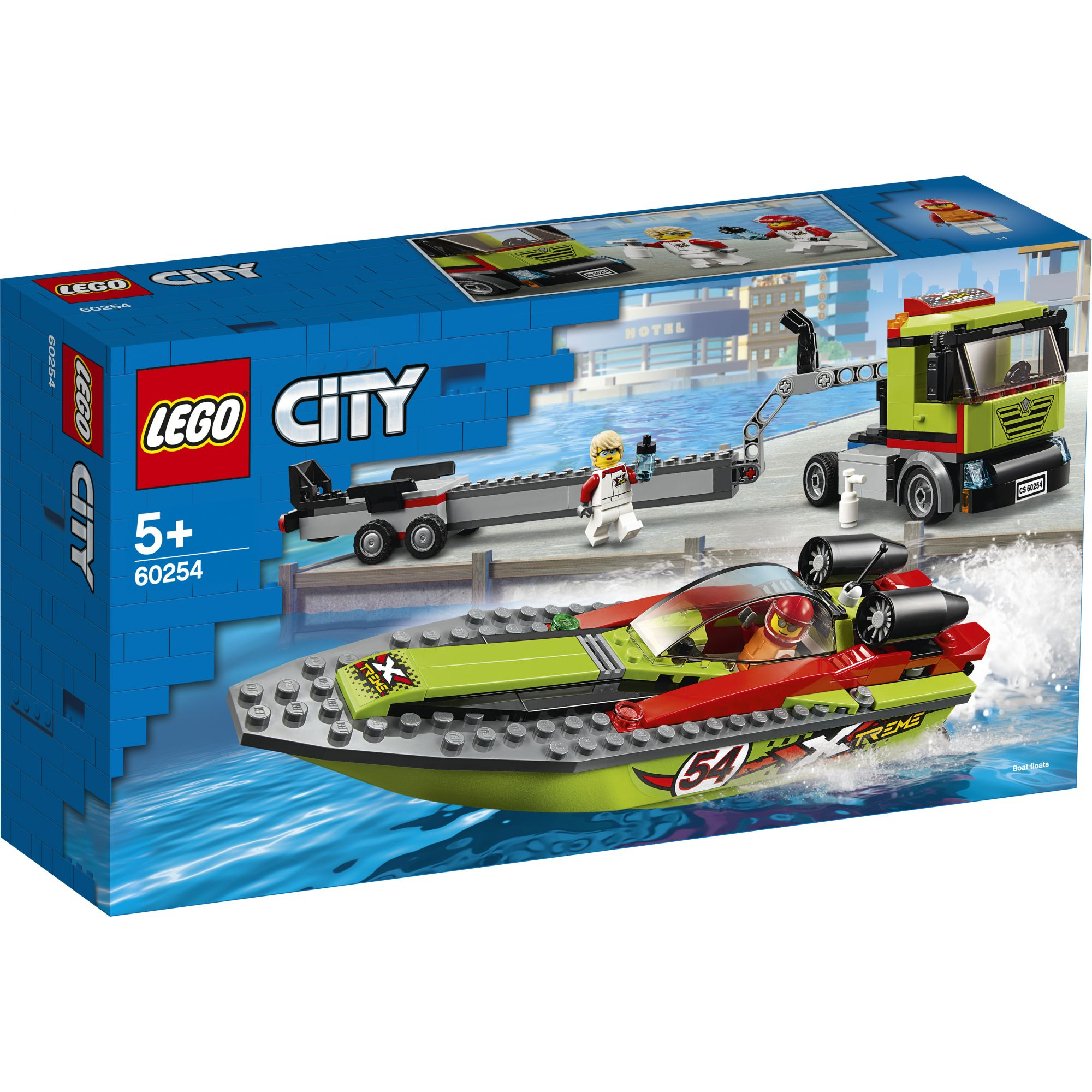 LEGO City Trasportatore di motoscafi - 60254 LEGO CITY