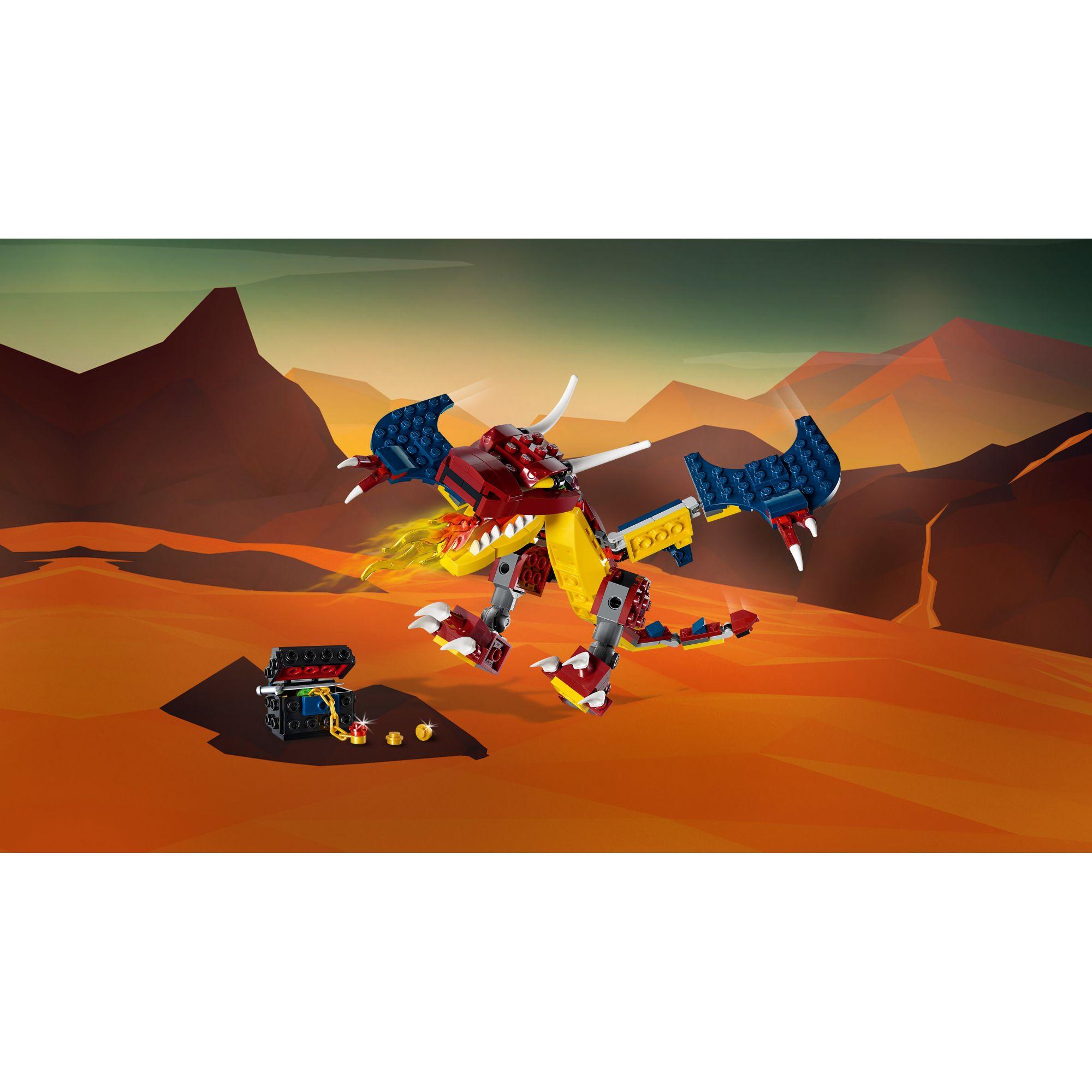 LEGO CREATOR   LEGO Creator Drago del fuoco - 31102