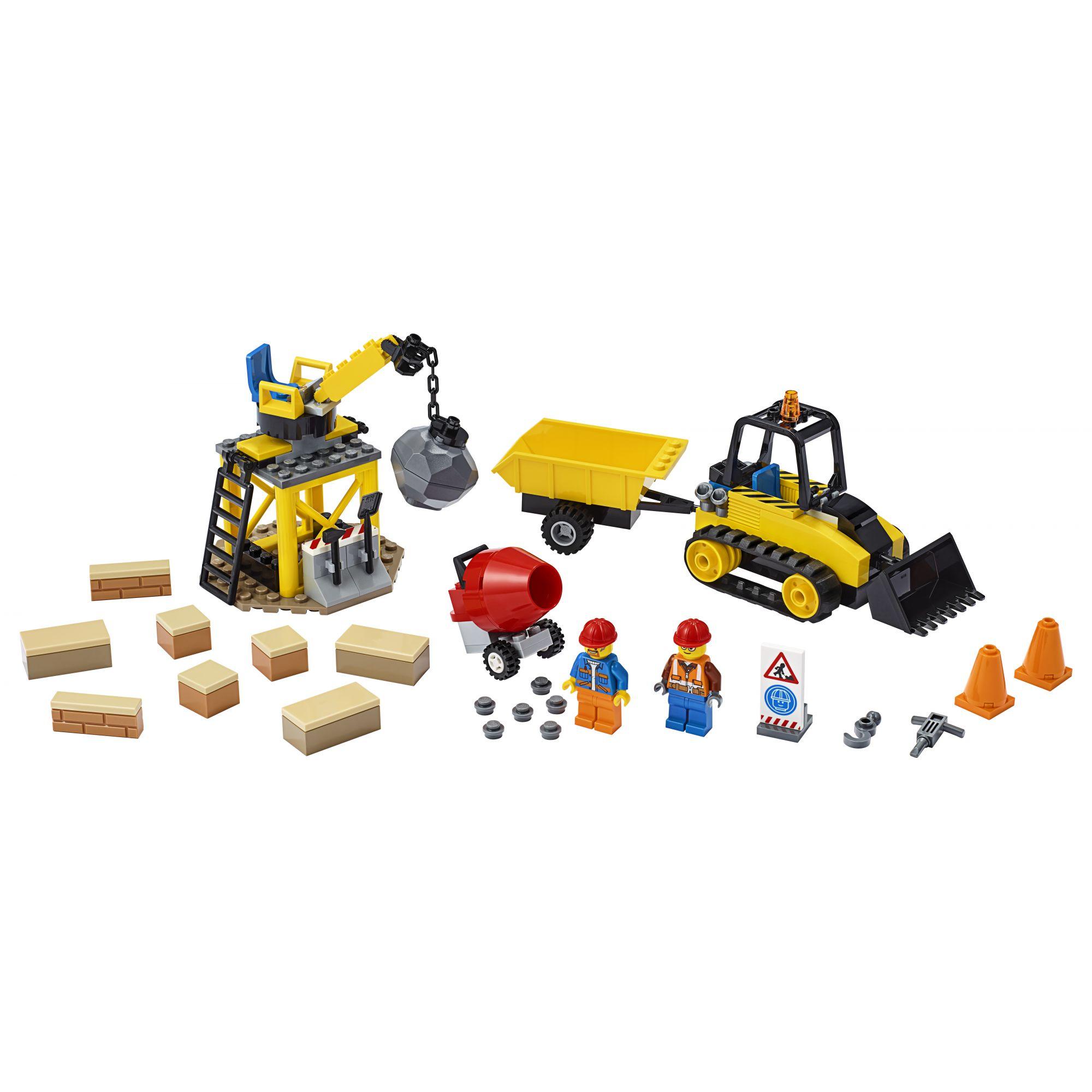 LEGO City Bulldozer da cantiere - 60252    LEGO CITY