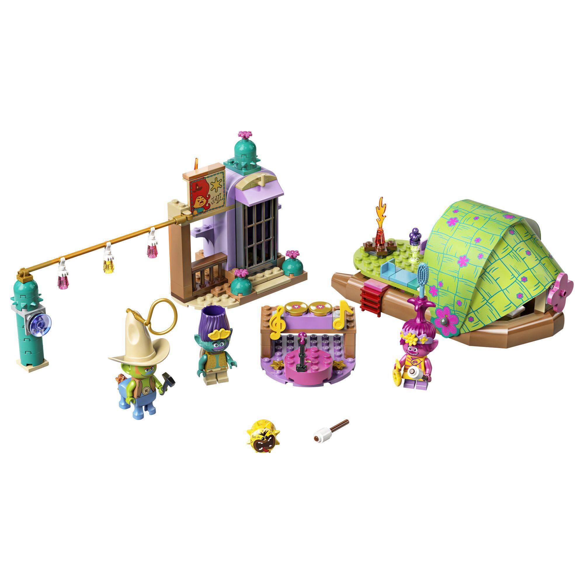 LEGO Trolls Avventura sulla zattera a Lonesome Flats - 41253
