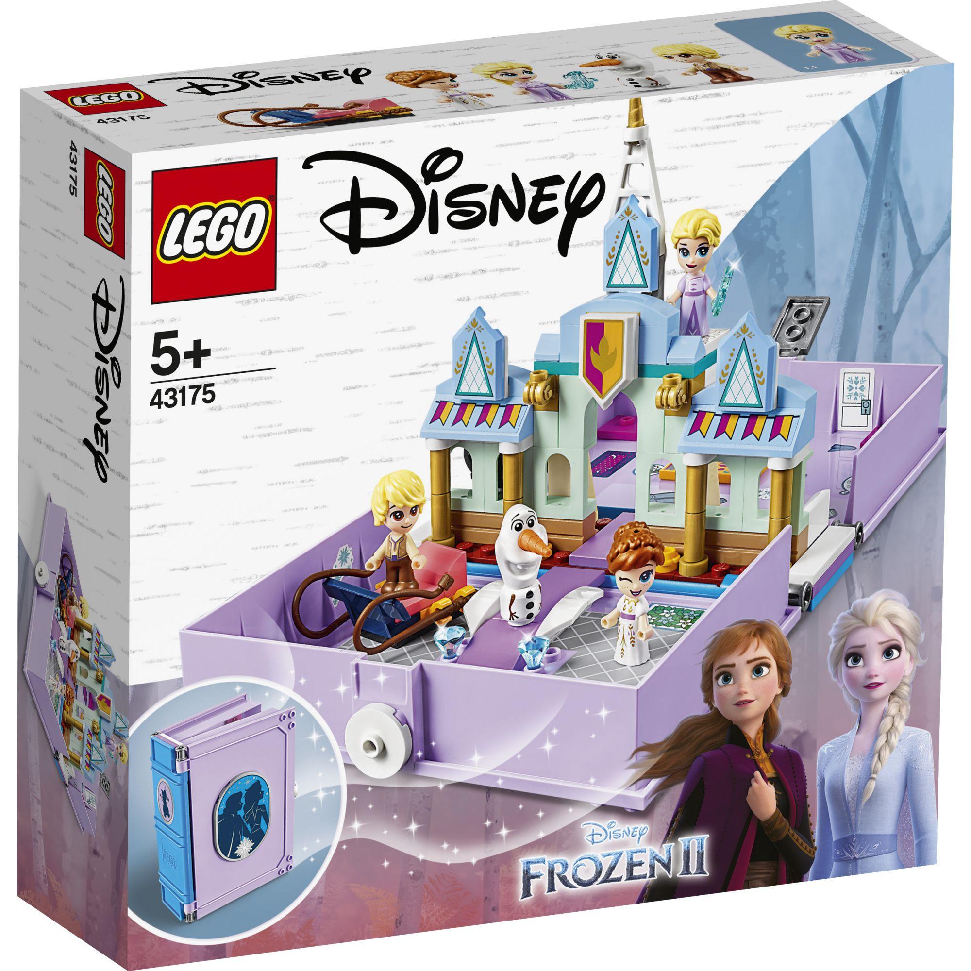 LEGO Disney Frozen Il libro delle fiabe di Anna ed Elsa - 43175