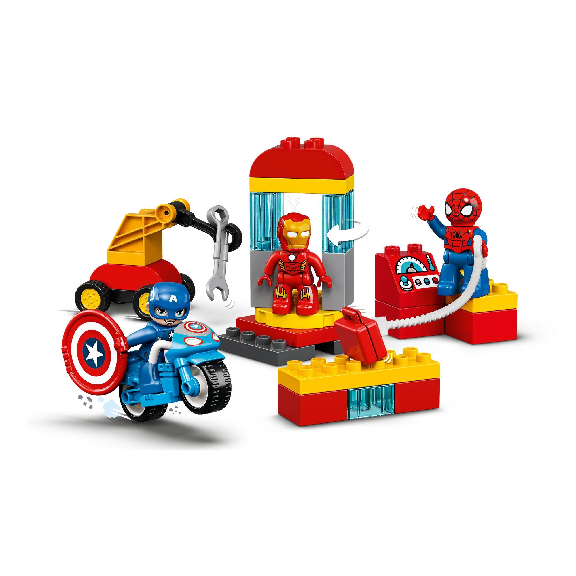 LEGO DUPLO Il laboratorio dei supereroi - 10921    LEGO DUPLO