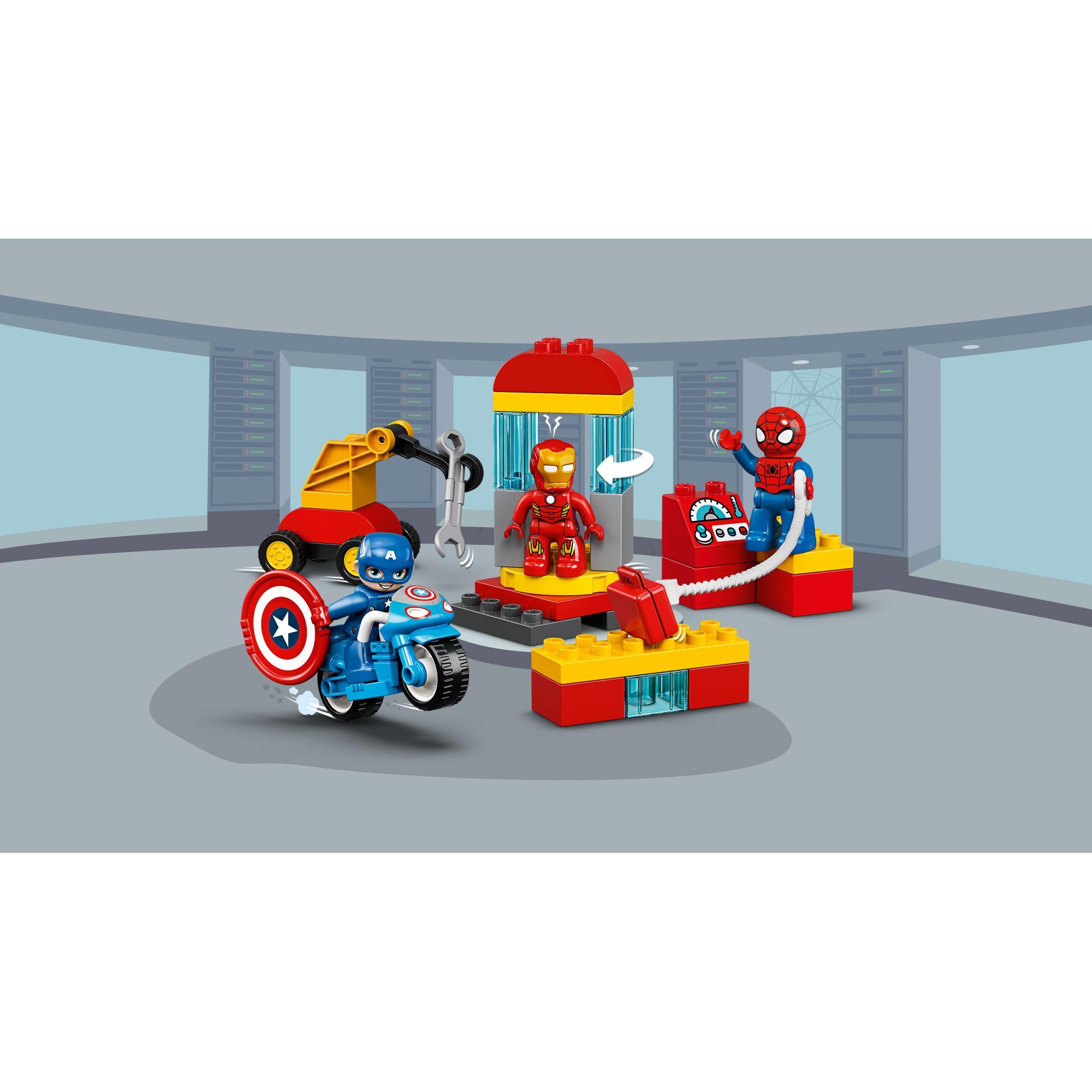 LEGO DUPLO  LEGO DUPLO Il laboratorio dei supereroi - 10921