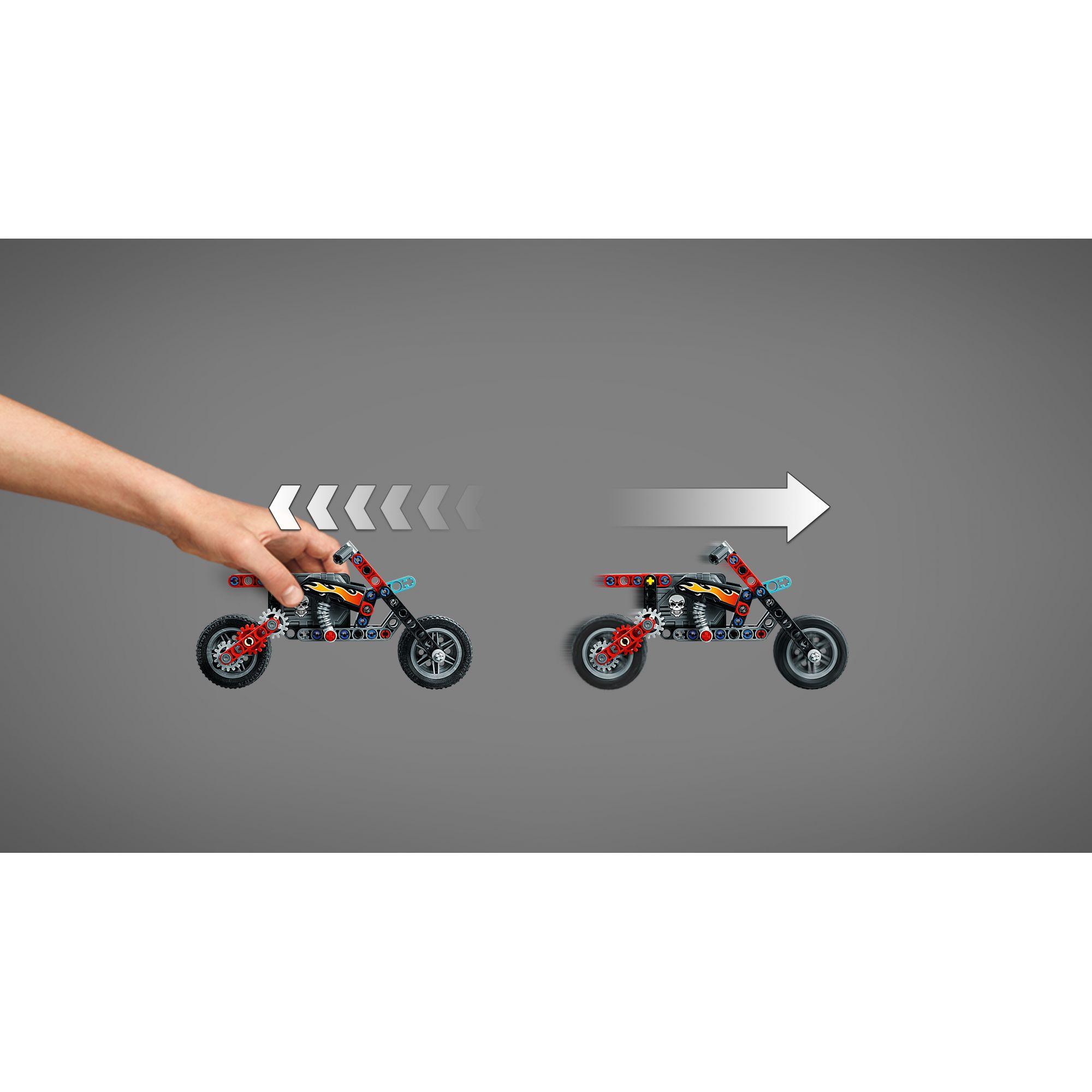 LEGO TECHNIC  -Truck e moto dello Stunt Show - 42106    LEGO TECHNIC