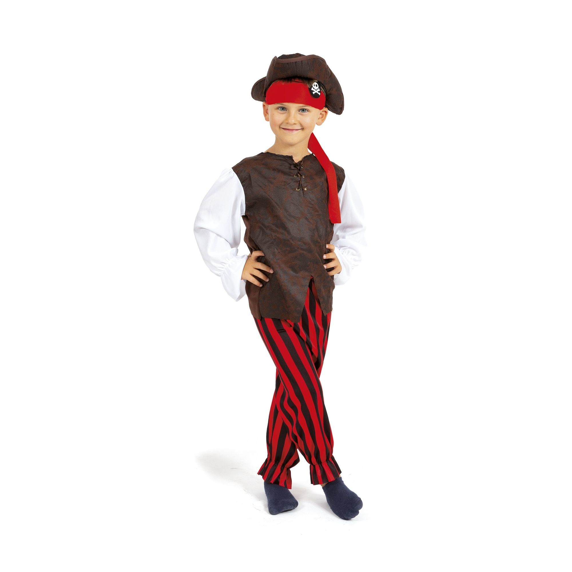 COSTUME DA PIRATA FANCY WORLD