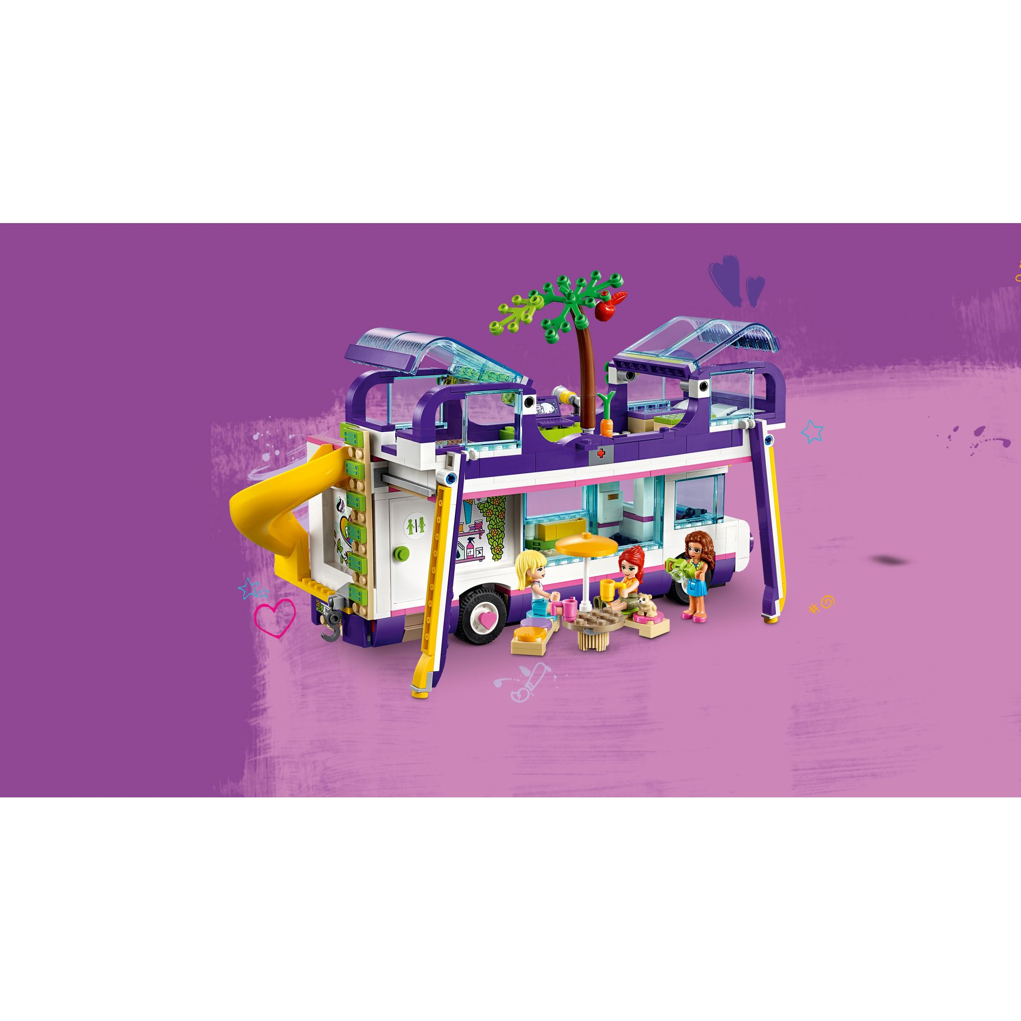 LEGO FRIENDS   LEGO Friends Il bus dell'amicizia - 41395