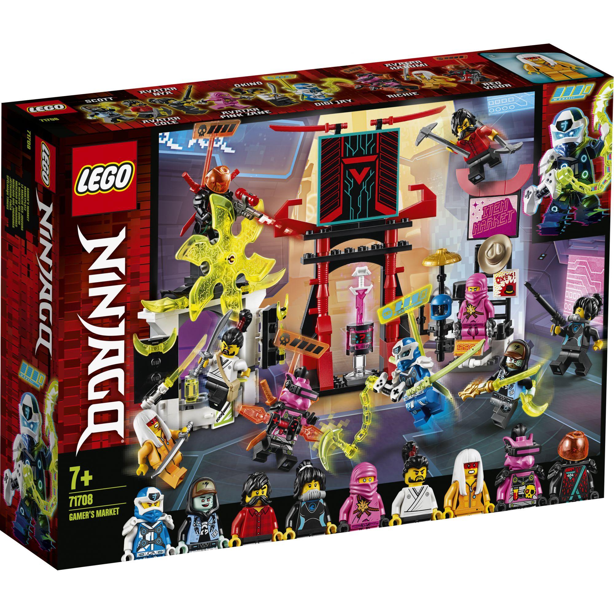 LEGO NINJAGO Il Mercato dei Ninja Gamers - 71708 LEGO NINJAGO