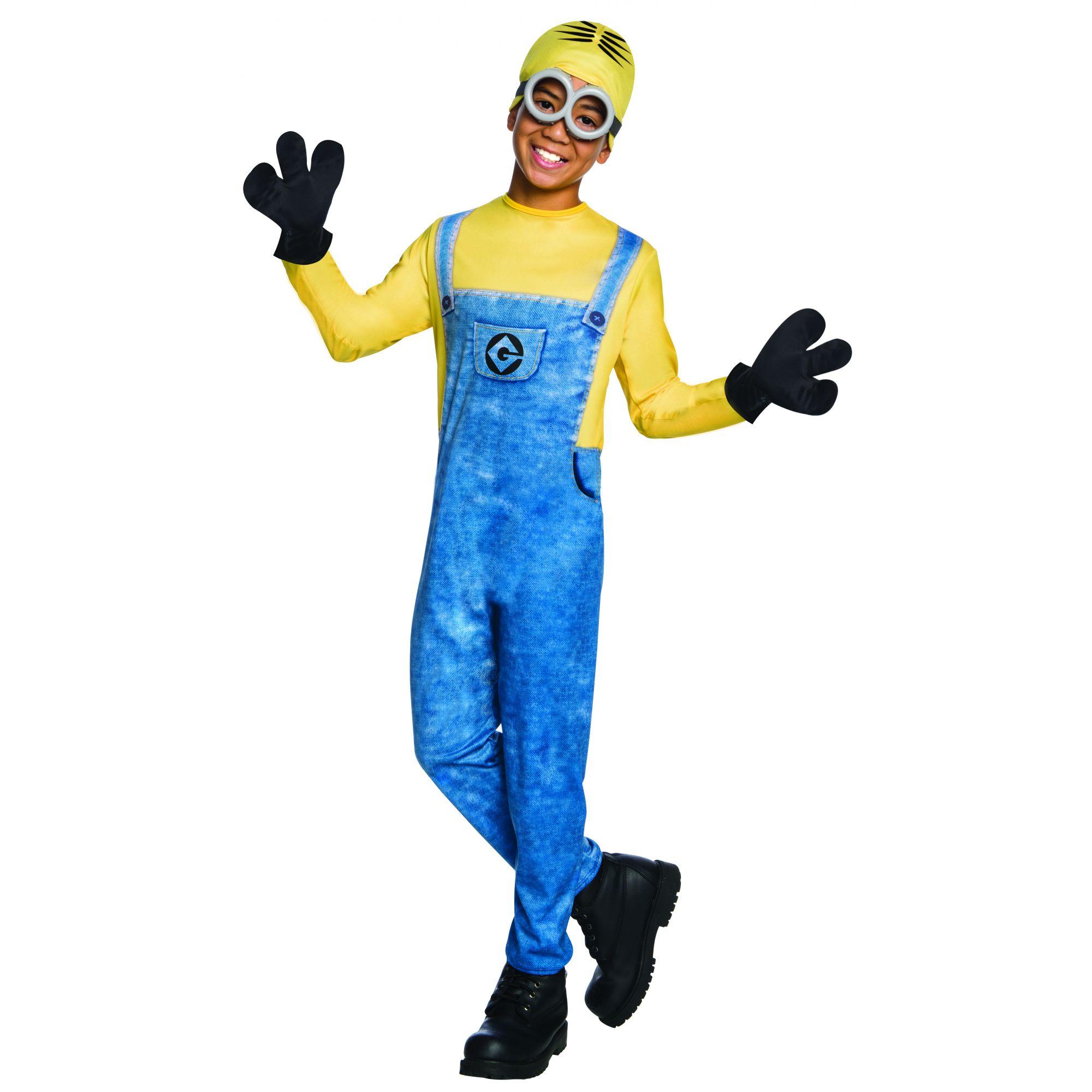 Costume Minion Dave bambino 7/8 anni