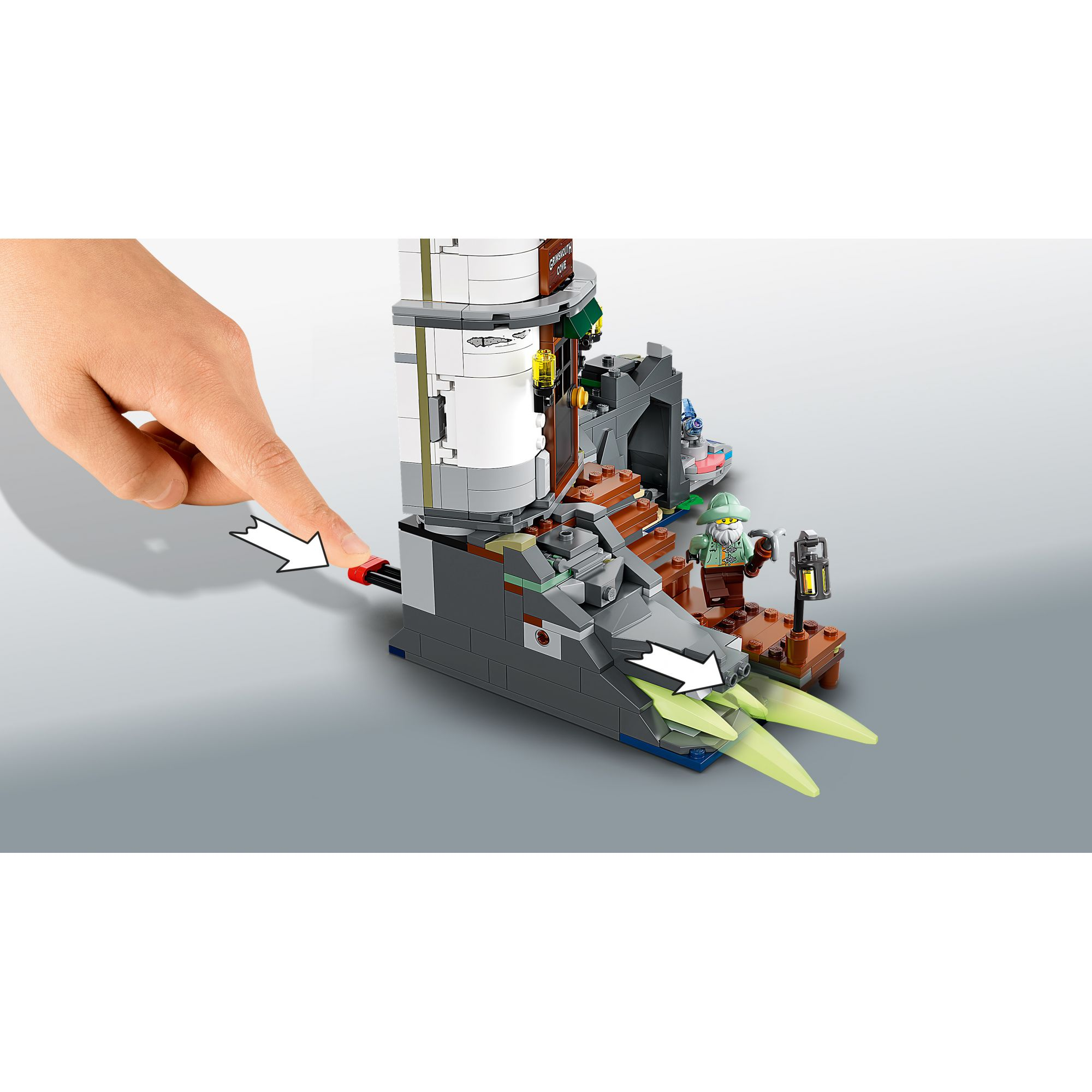 LEGO Hidden Side Il faro delle tenebre - 70431