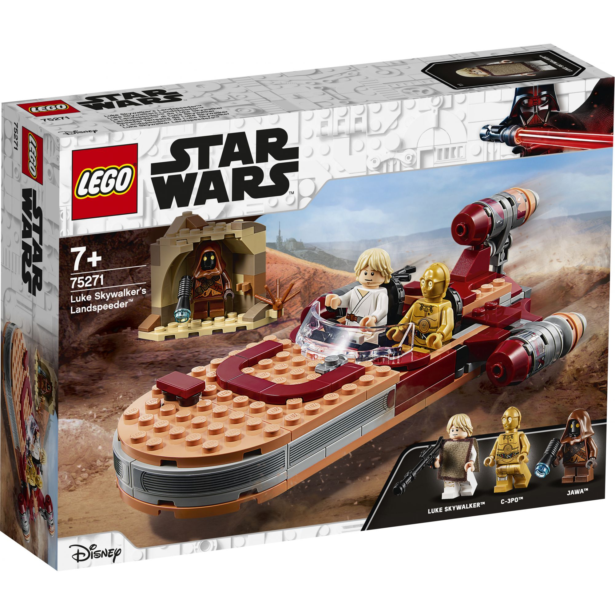 LEGO Star Wars Landspeeder di Luke Skywalker - 75271