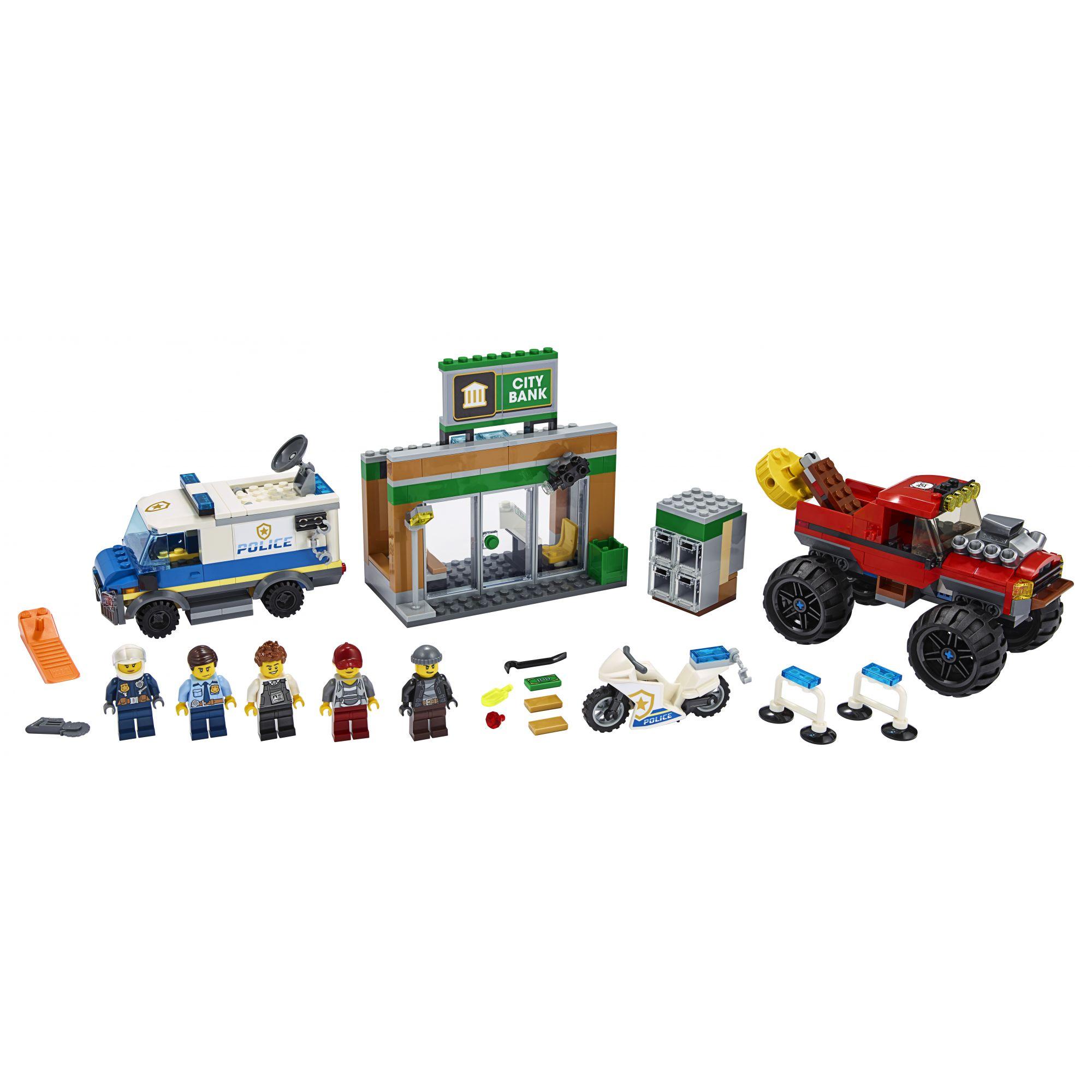 LEGO City Rapina sul Monster Truck - 60245    LEGO CITY