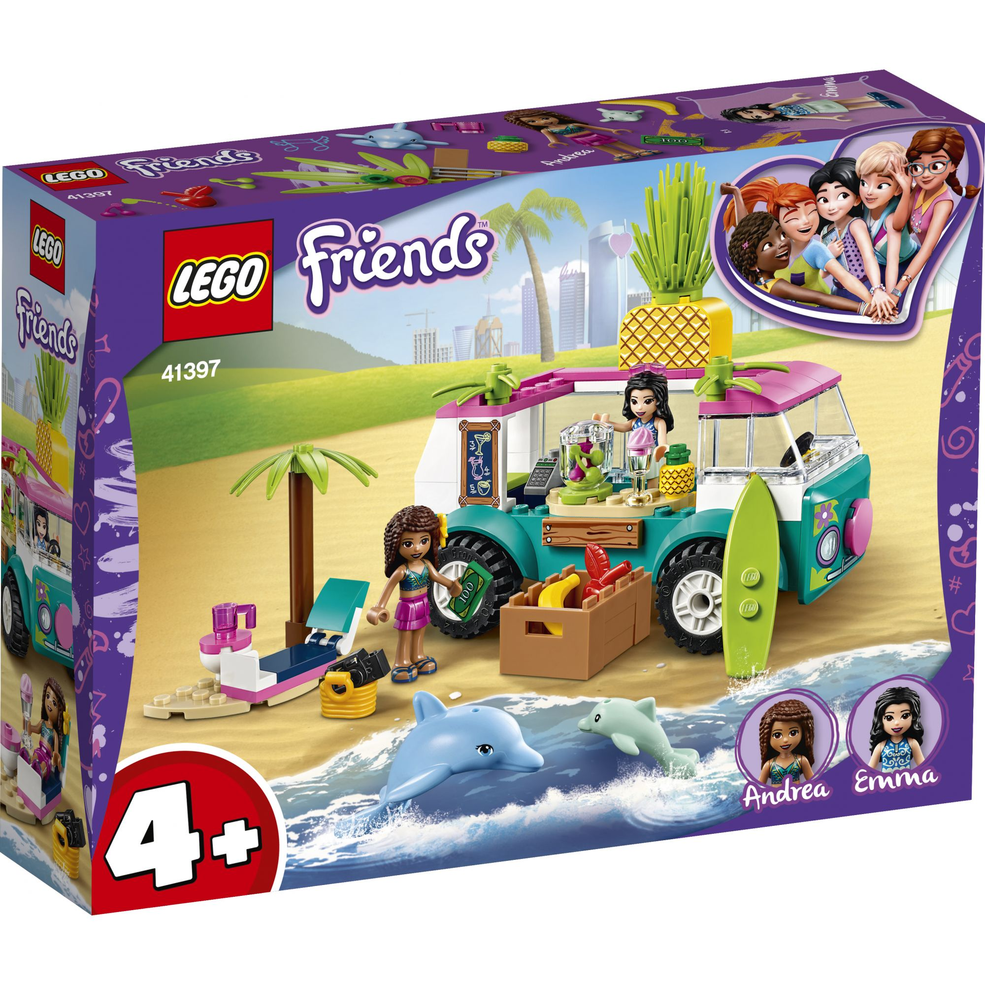 LEGO Friends Il furgone dei frullati - 41397 LEGO FRIENDS
