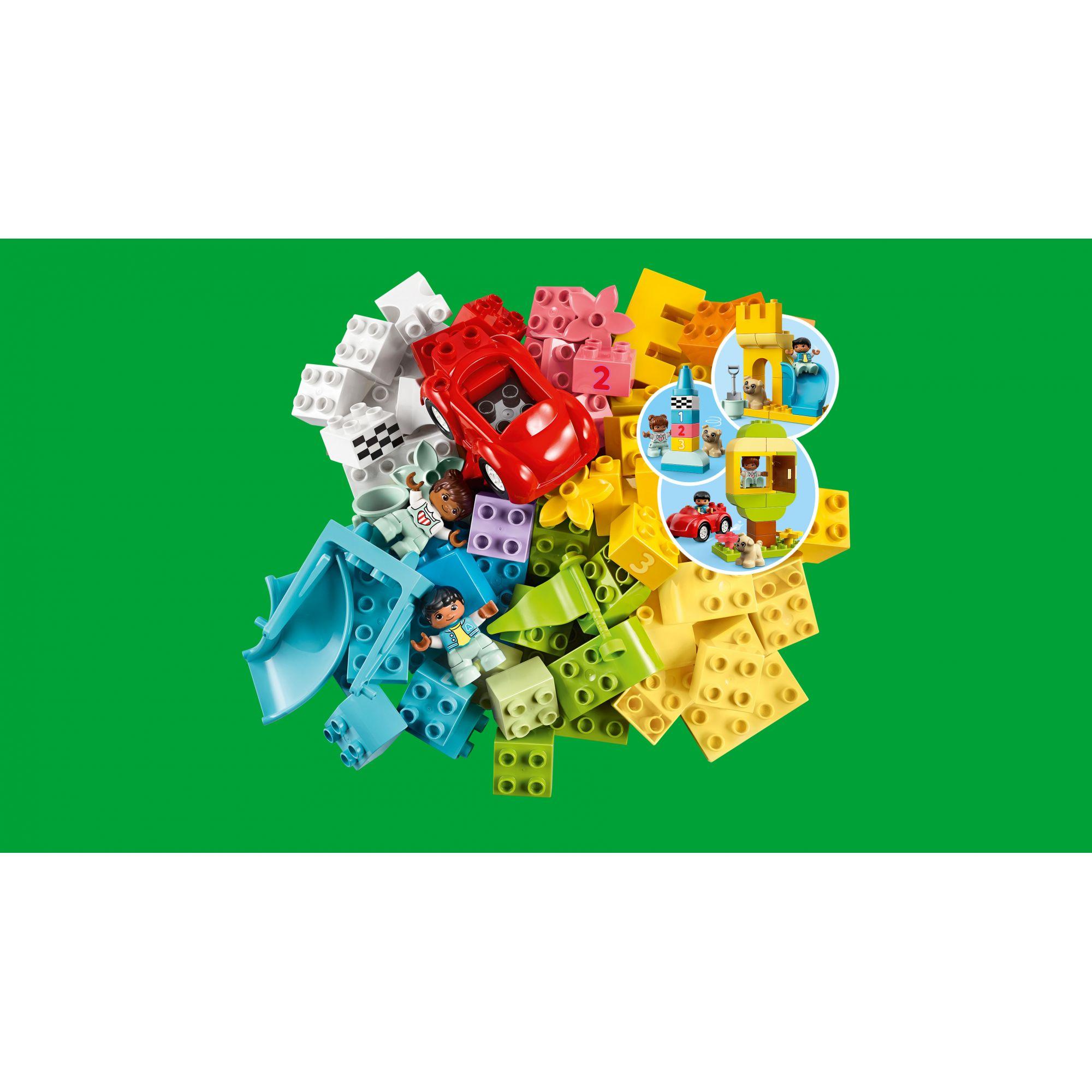 LEGO DUPLO  LEGO DUPLO Contenitore di mattoncini grande - 10914