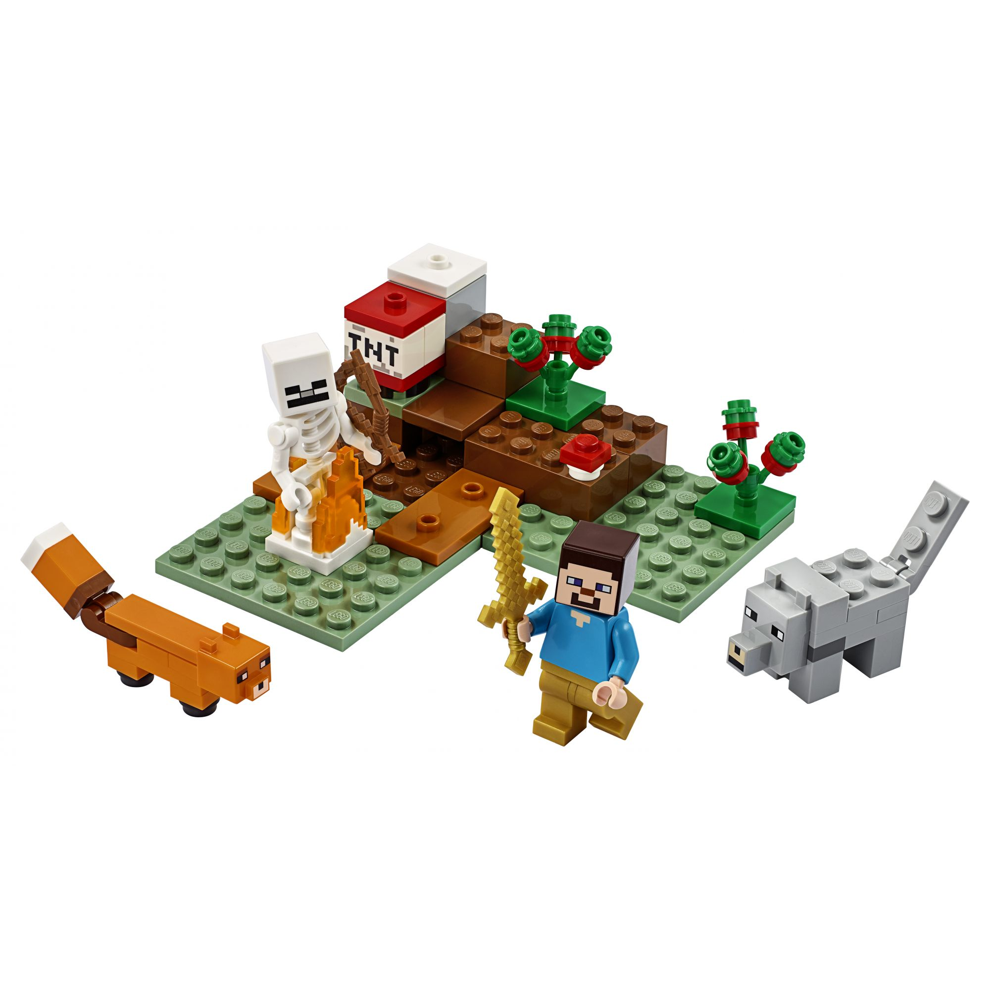 LEGO Minecraft Avventura nella Taiga - 21162