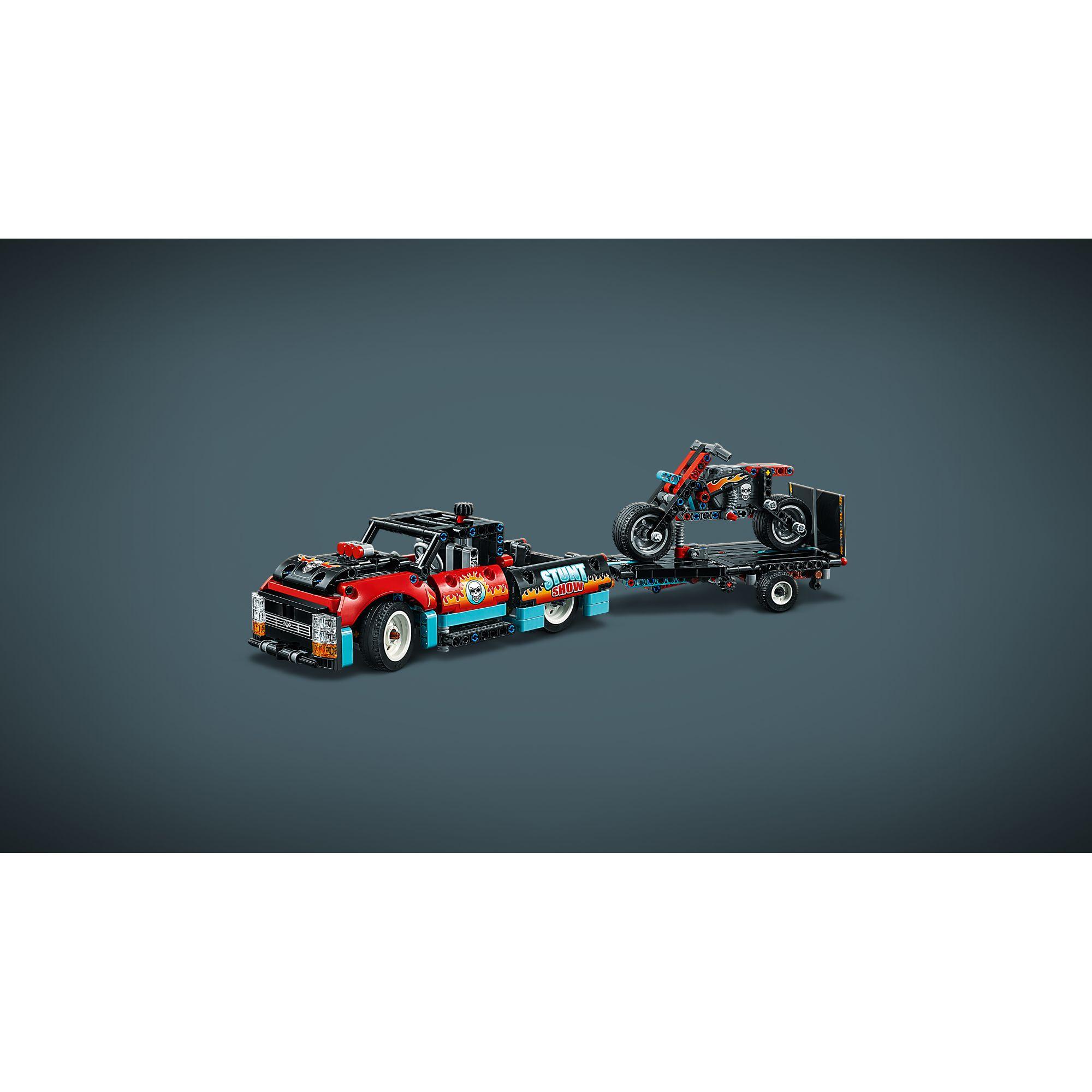 LEGO TECHNIC  LEGO TECHNIC  -Truck e moto dello Stunt Show - 42106