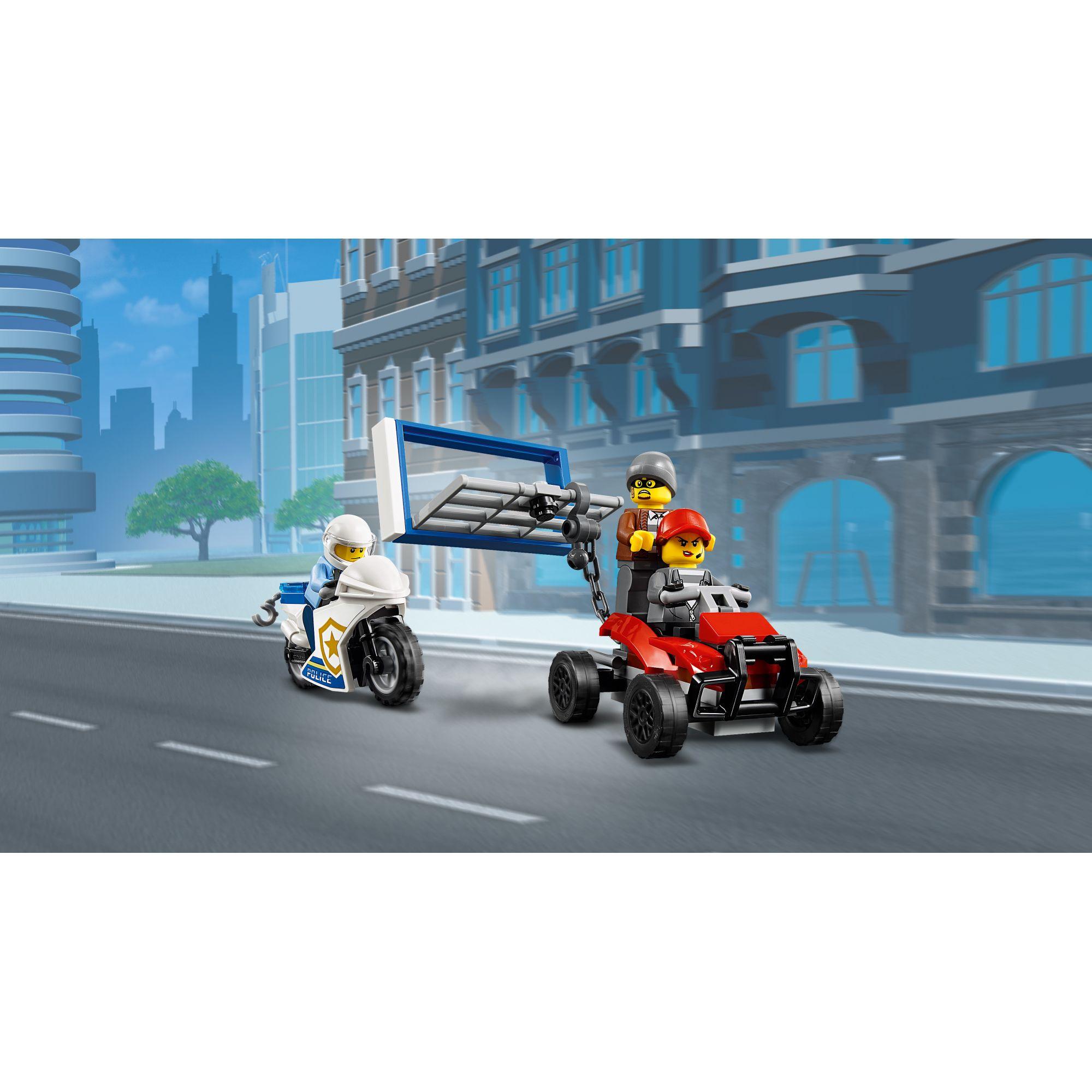 LEGO CITY   LEGO City Trasportatore di elicotteri della polizia - 60244