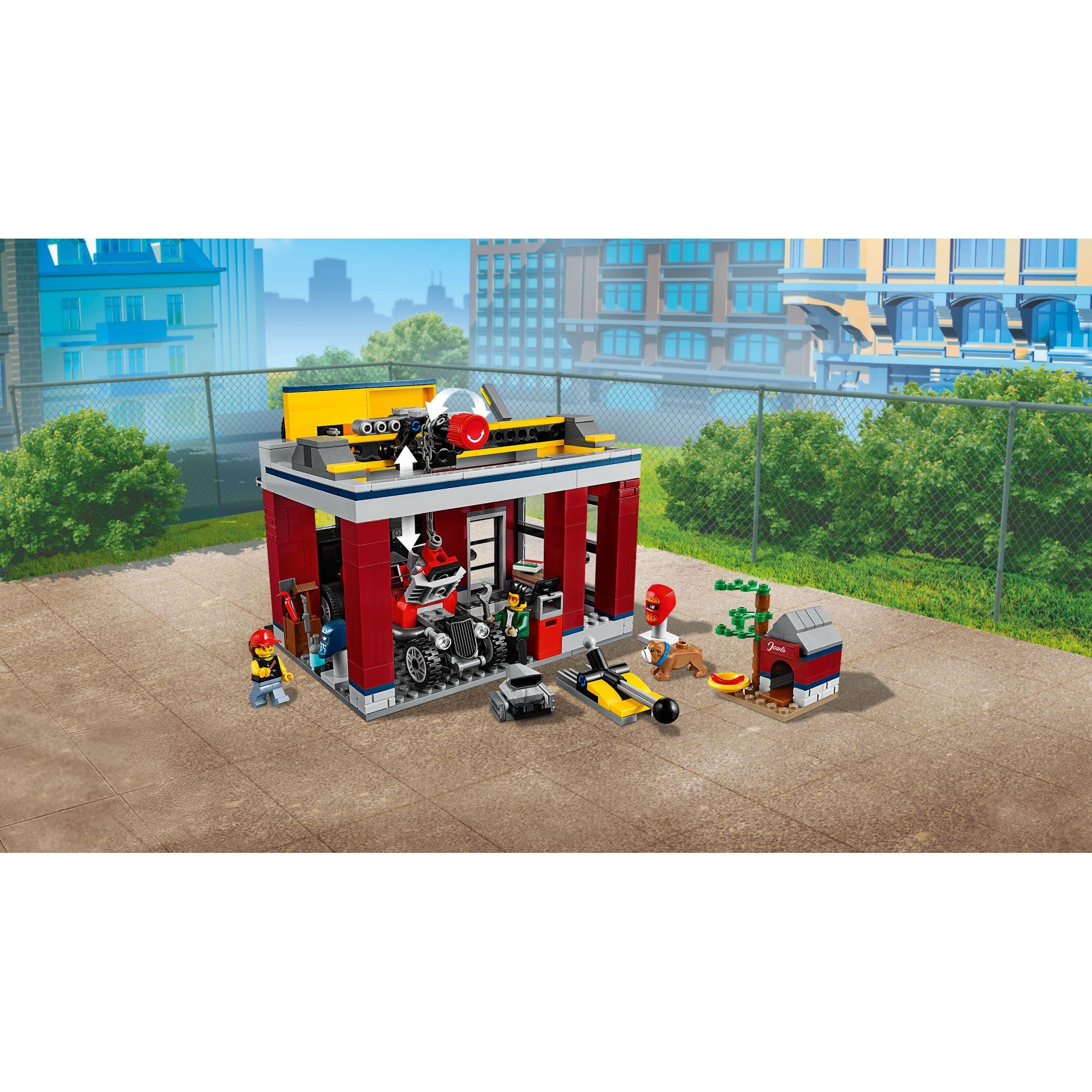 LEGO CITY   LEGO City Autofficina - 60258