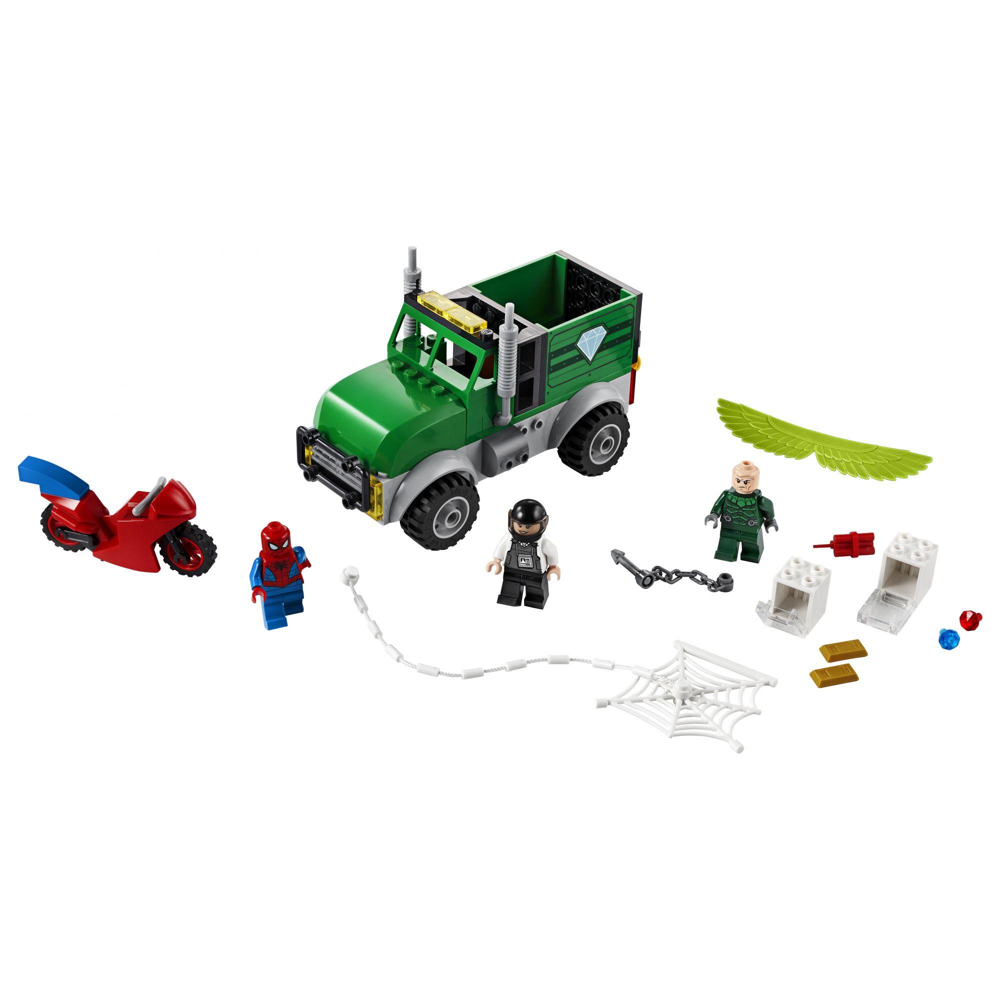 LEGO Marvel Super Heroes Avvoltoio e la rapina del camion - 76147