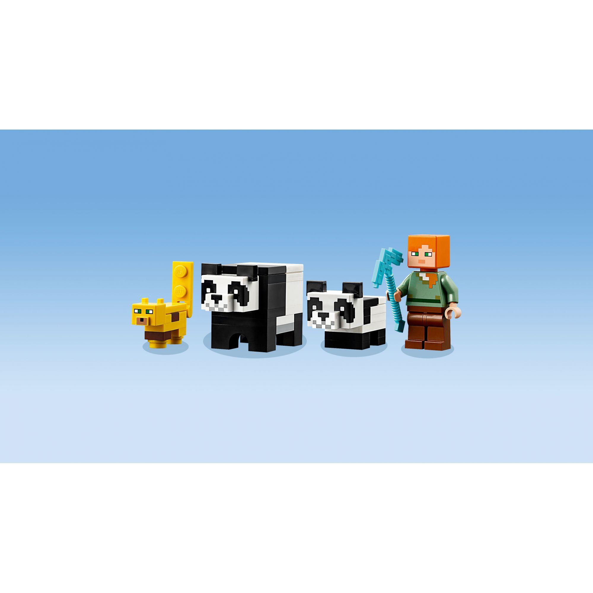 LEGO Minecraft L'allevamento di panda - 21158