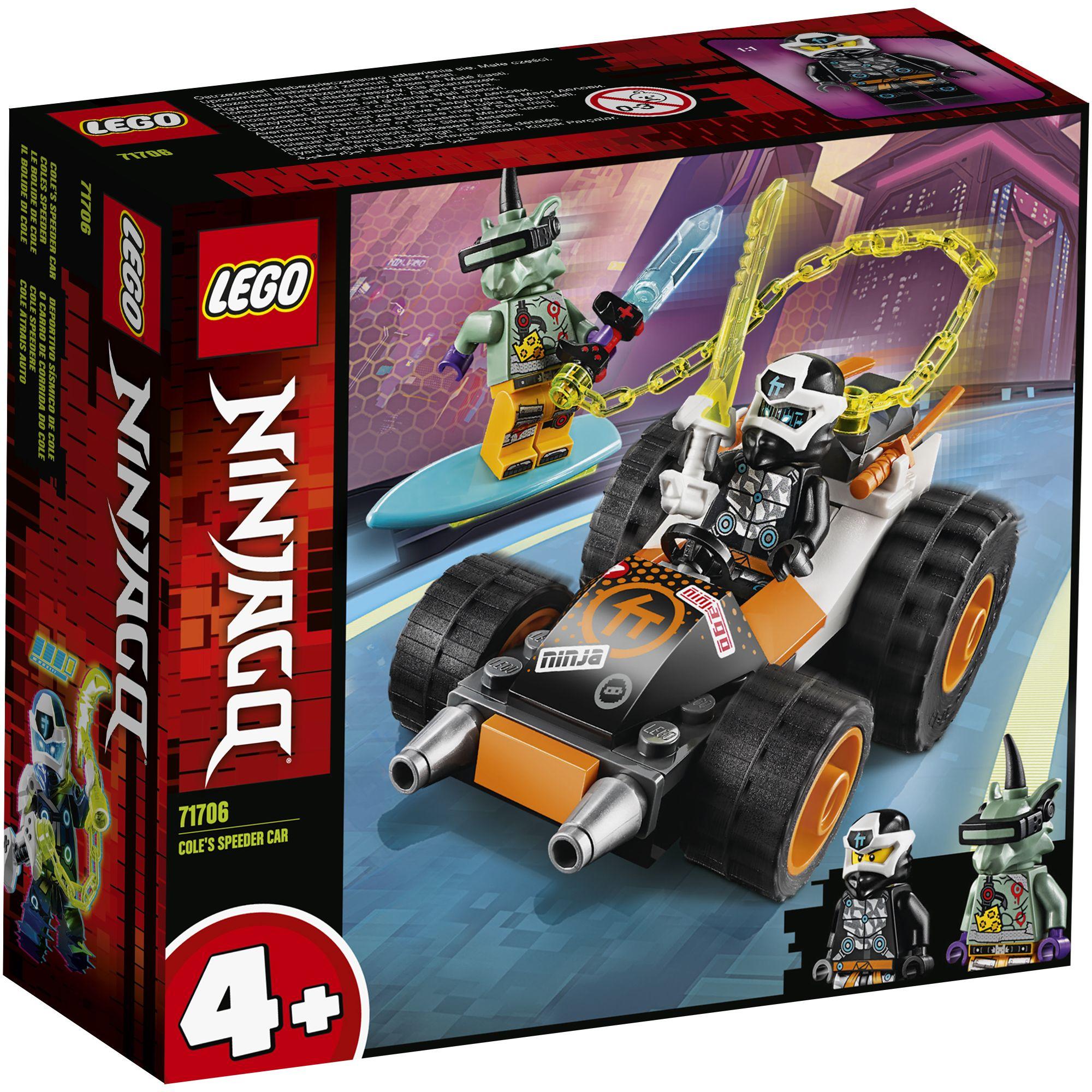 LEGO NINJAGO Il bolide di Cole - 71706 LEGO NINJAGO