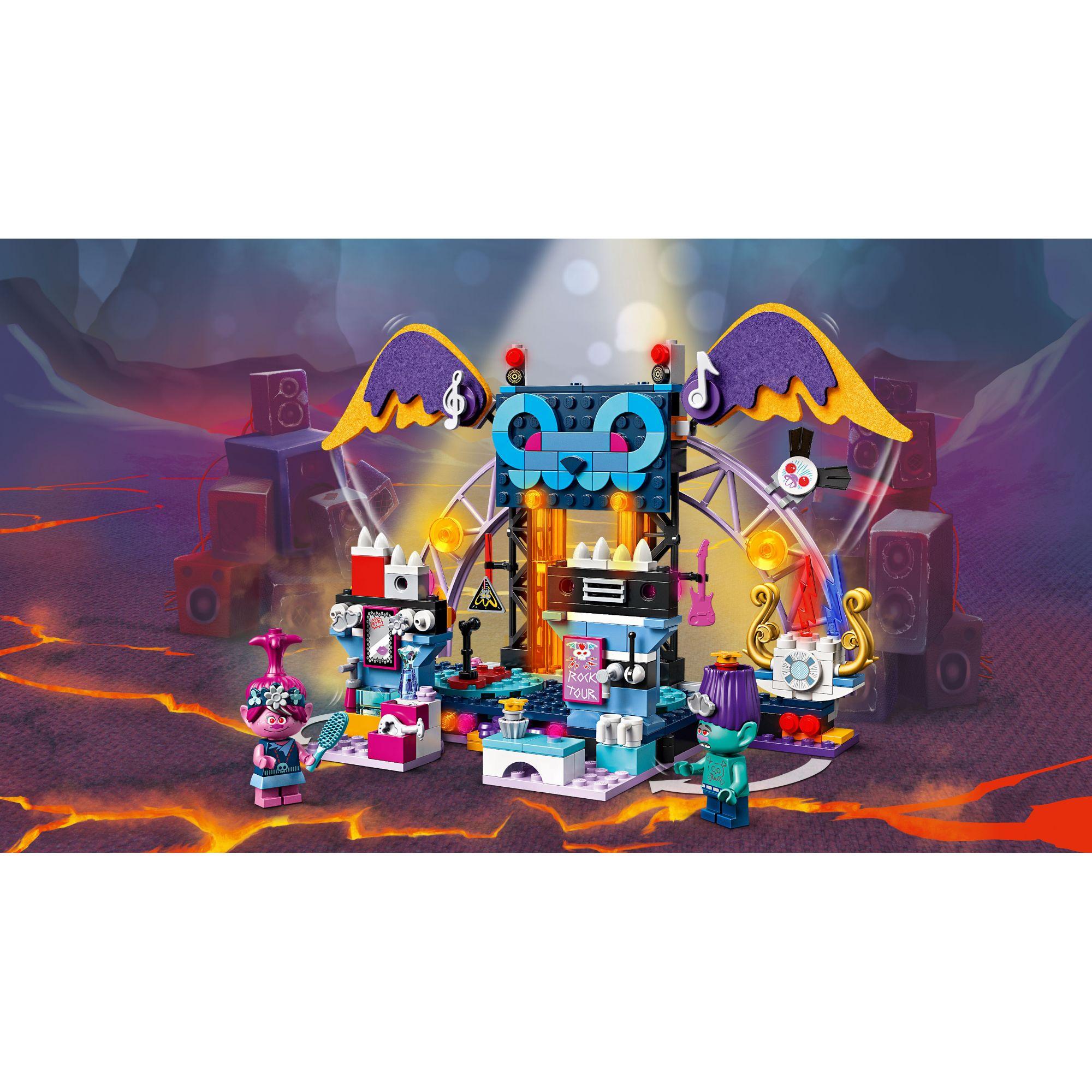 LEGO Trolls Concerto a Vulcano Rock City - 41254