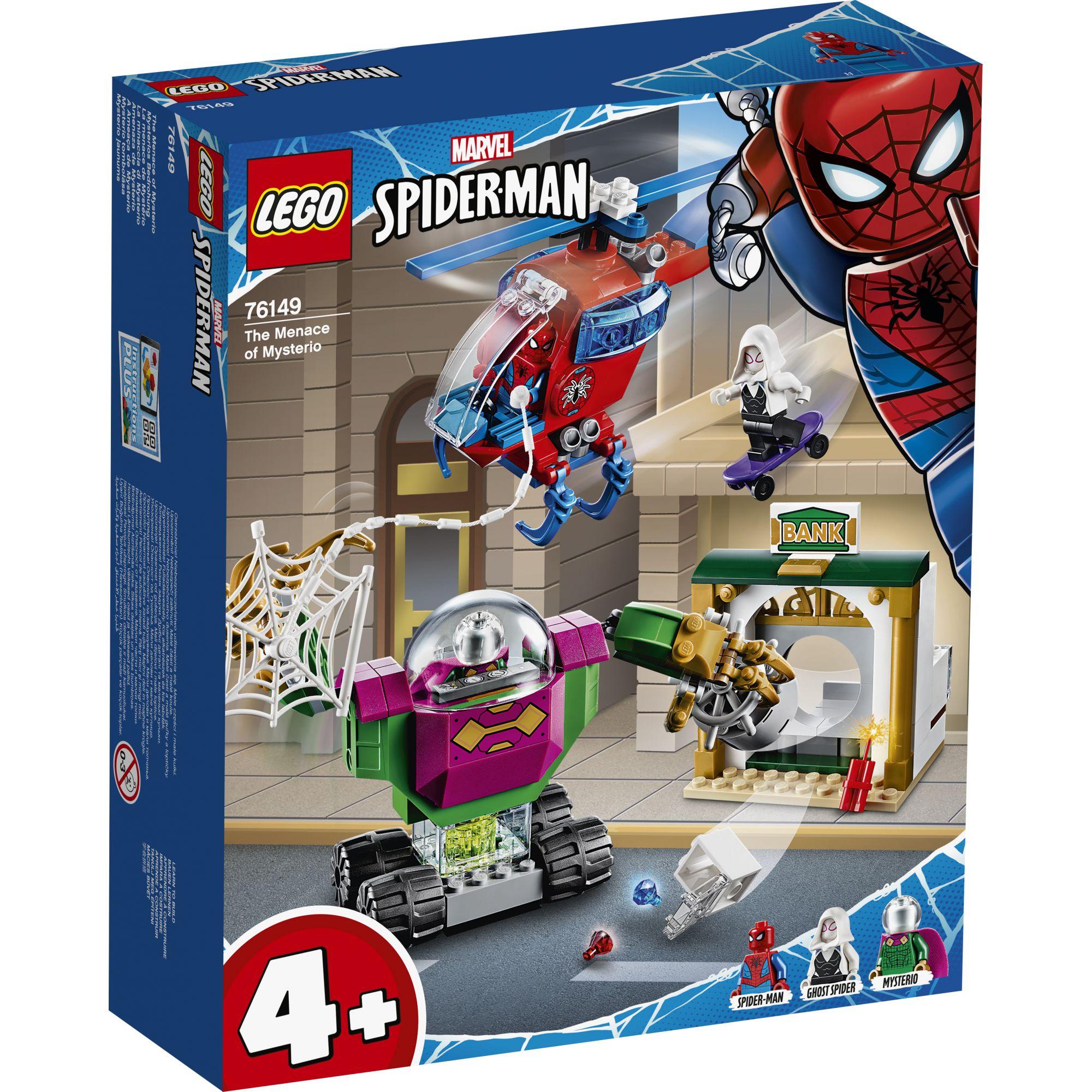 LEGO Marvel Super Heroes La minaccia di Mysterio - 76149
