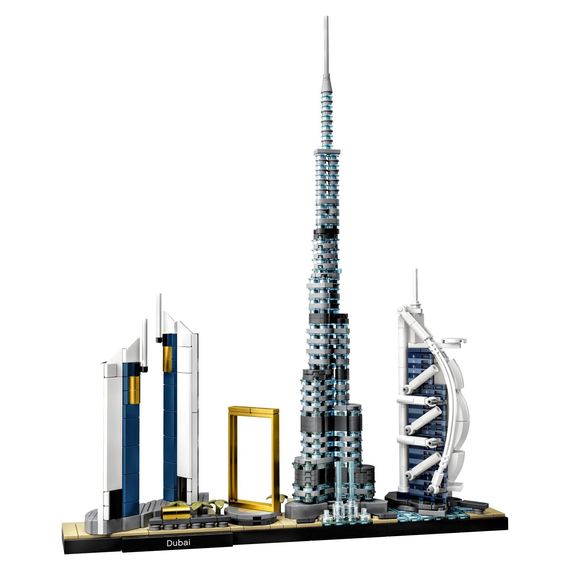 LEGO Architecture Dubai - 21052    LEGO ARCHITECTURE