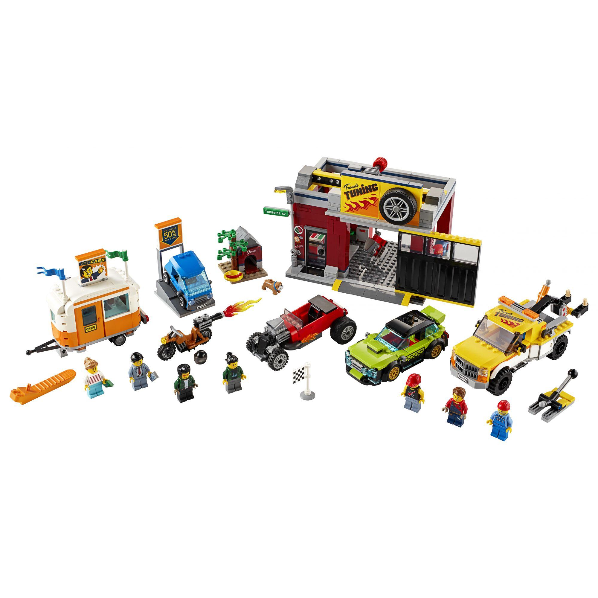 LEGO City Autofficina - 60258    LEGO CITY