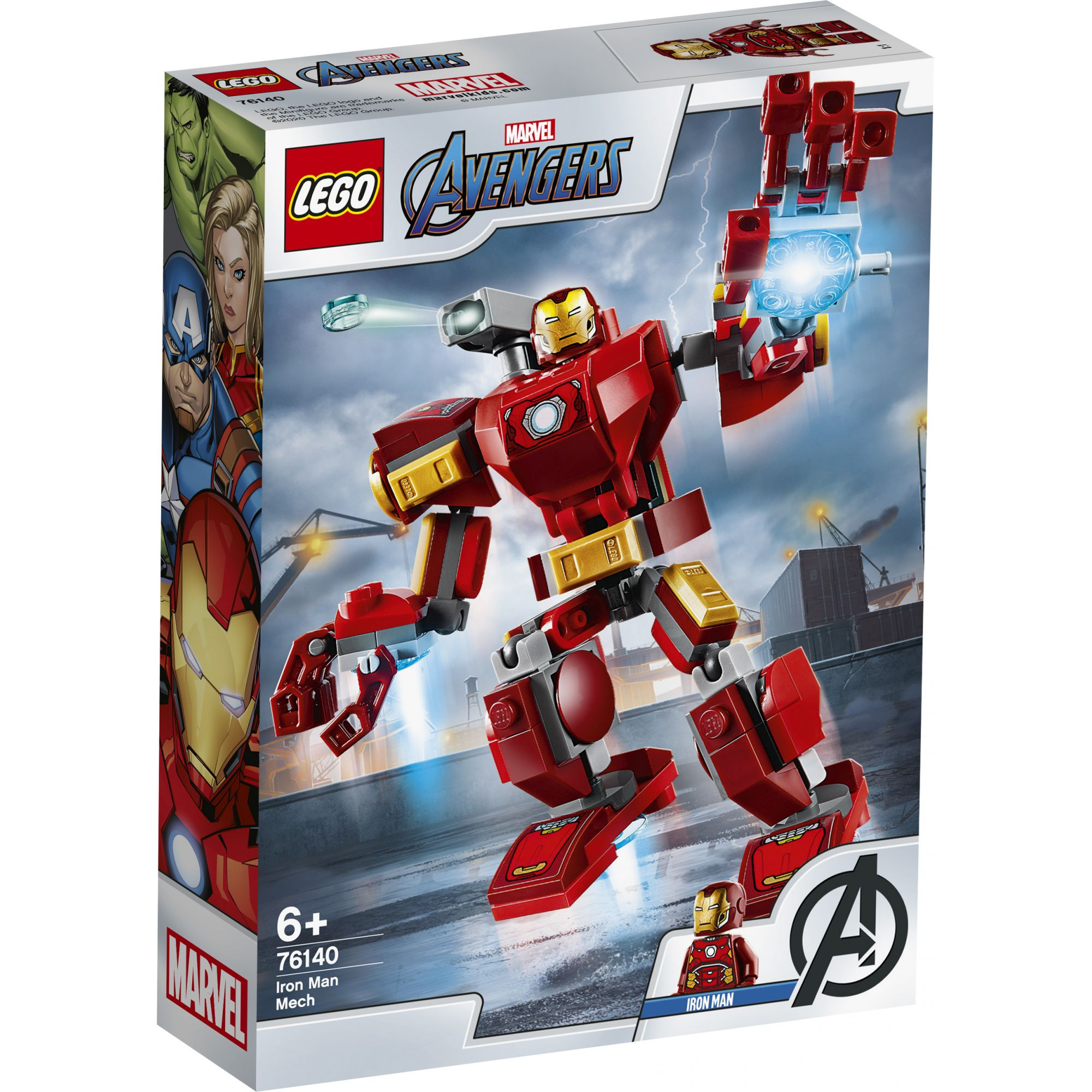 LEGO Marvel Avengers Movie 4 Mech Iron Man - 76140