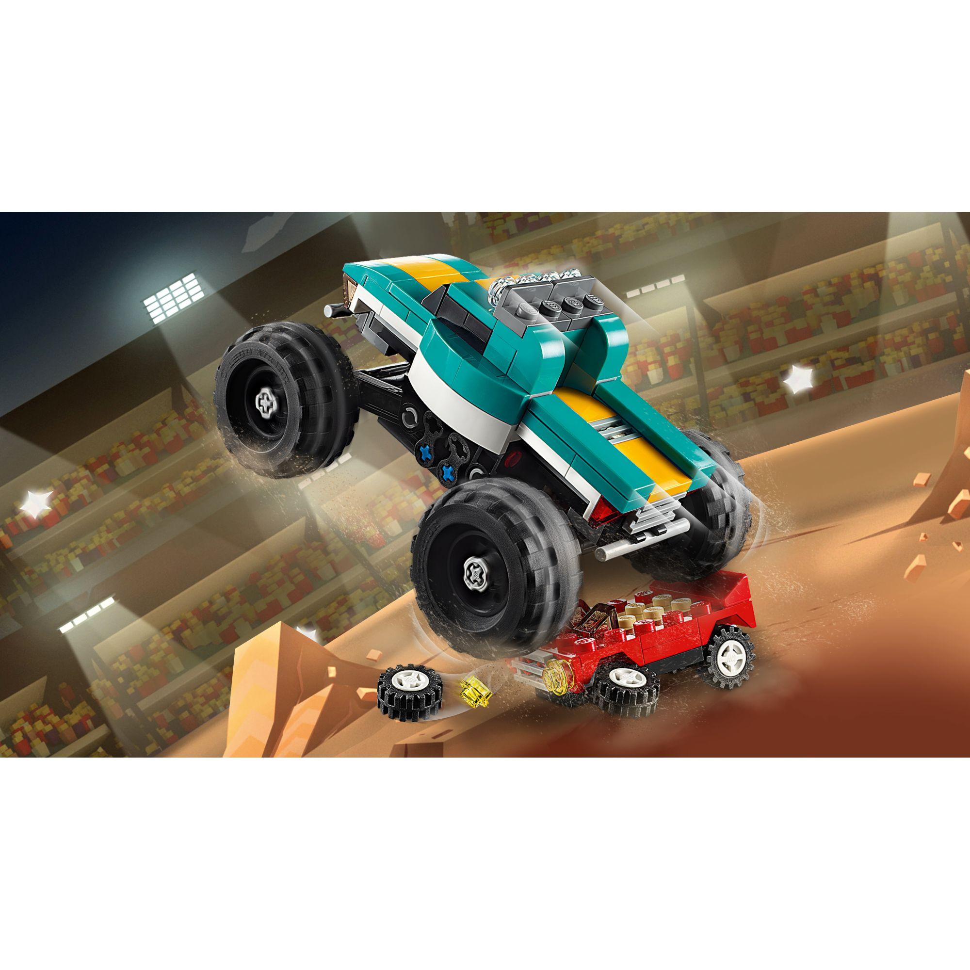 LEGO CREATOR   LEGO Creator Monster Truck - 31101