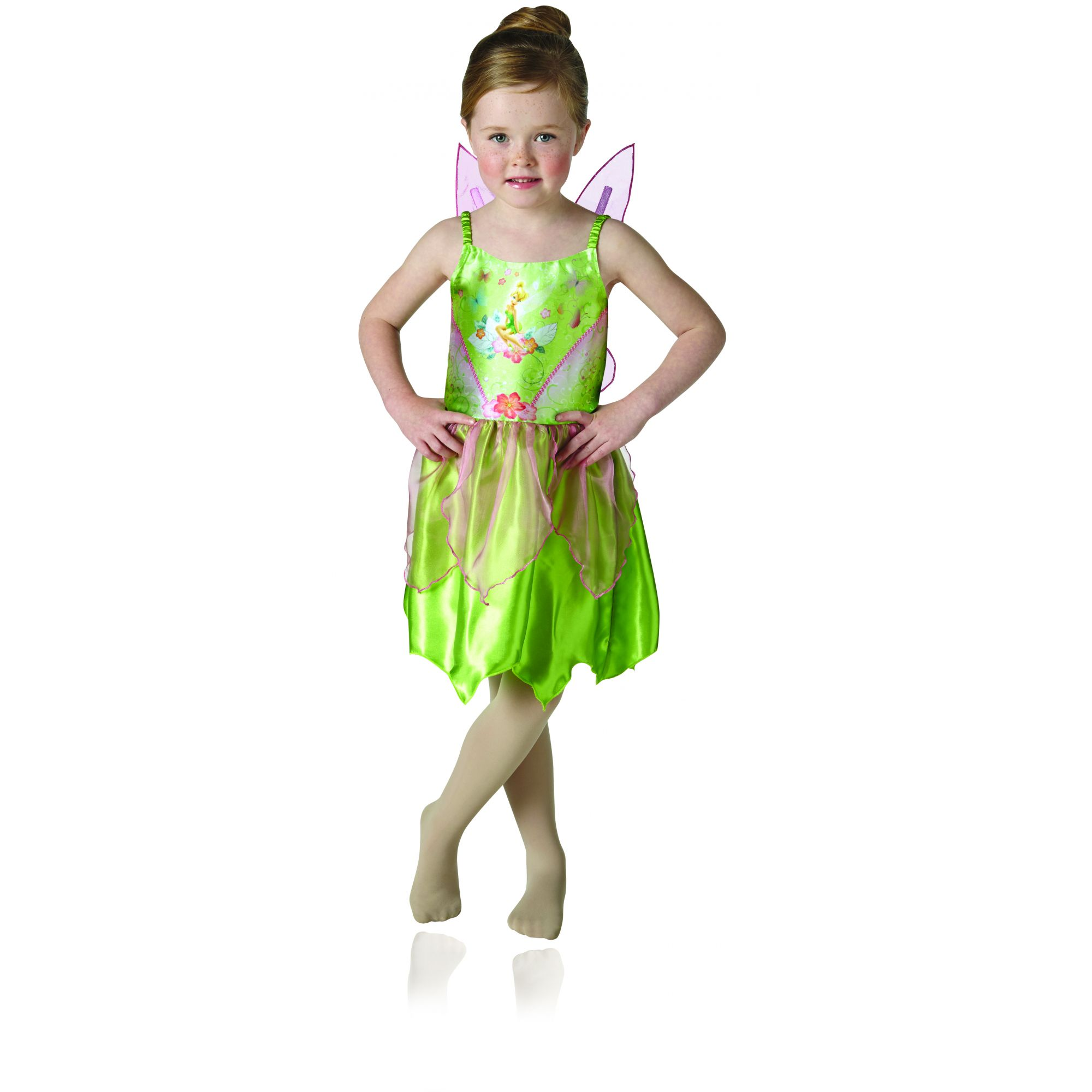 Costume Disney Campanellino bambina (trilly) 3/4 anni