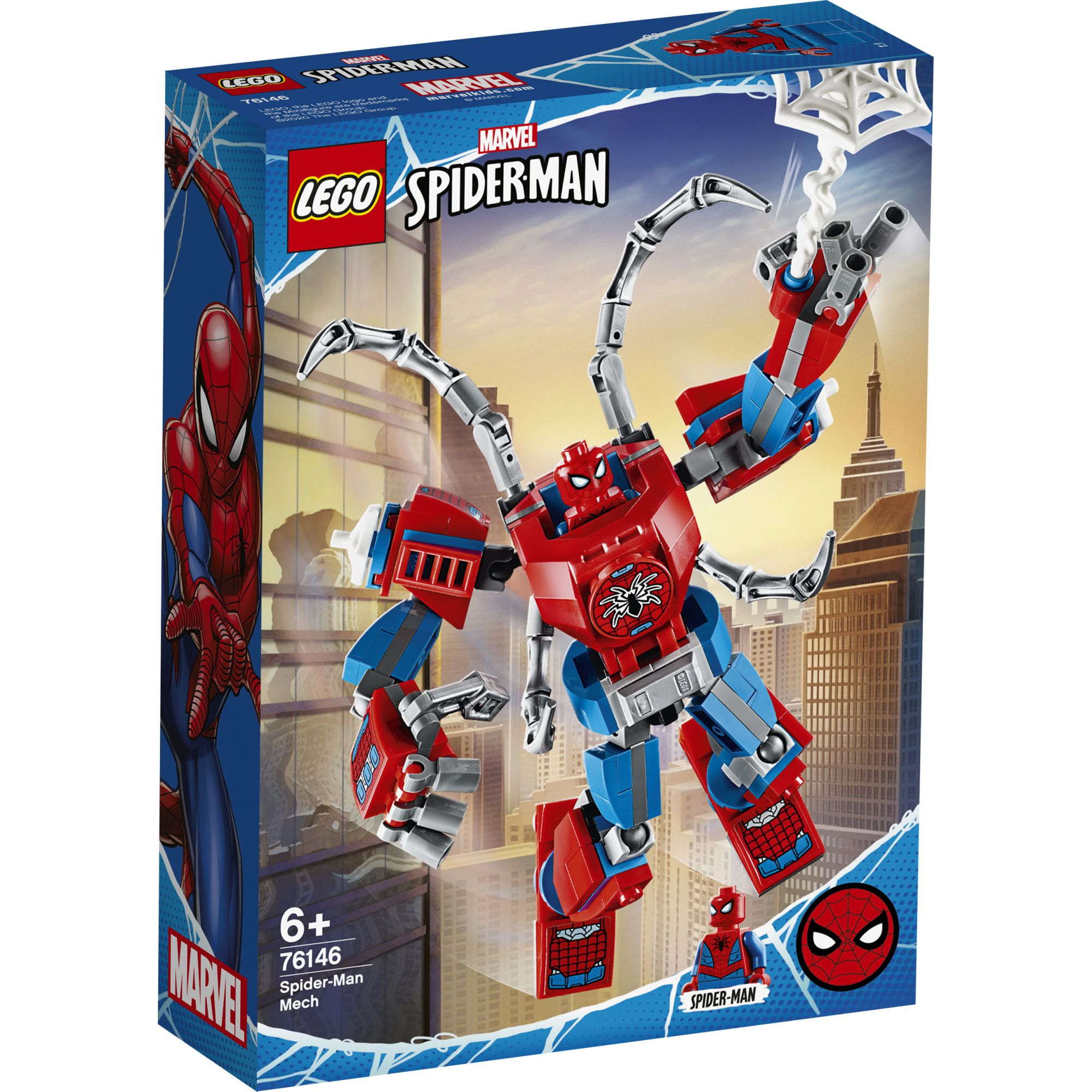 LEGO Marvel Super Heroes Mech Spider-Man - 76146