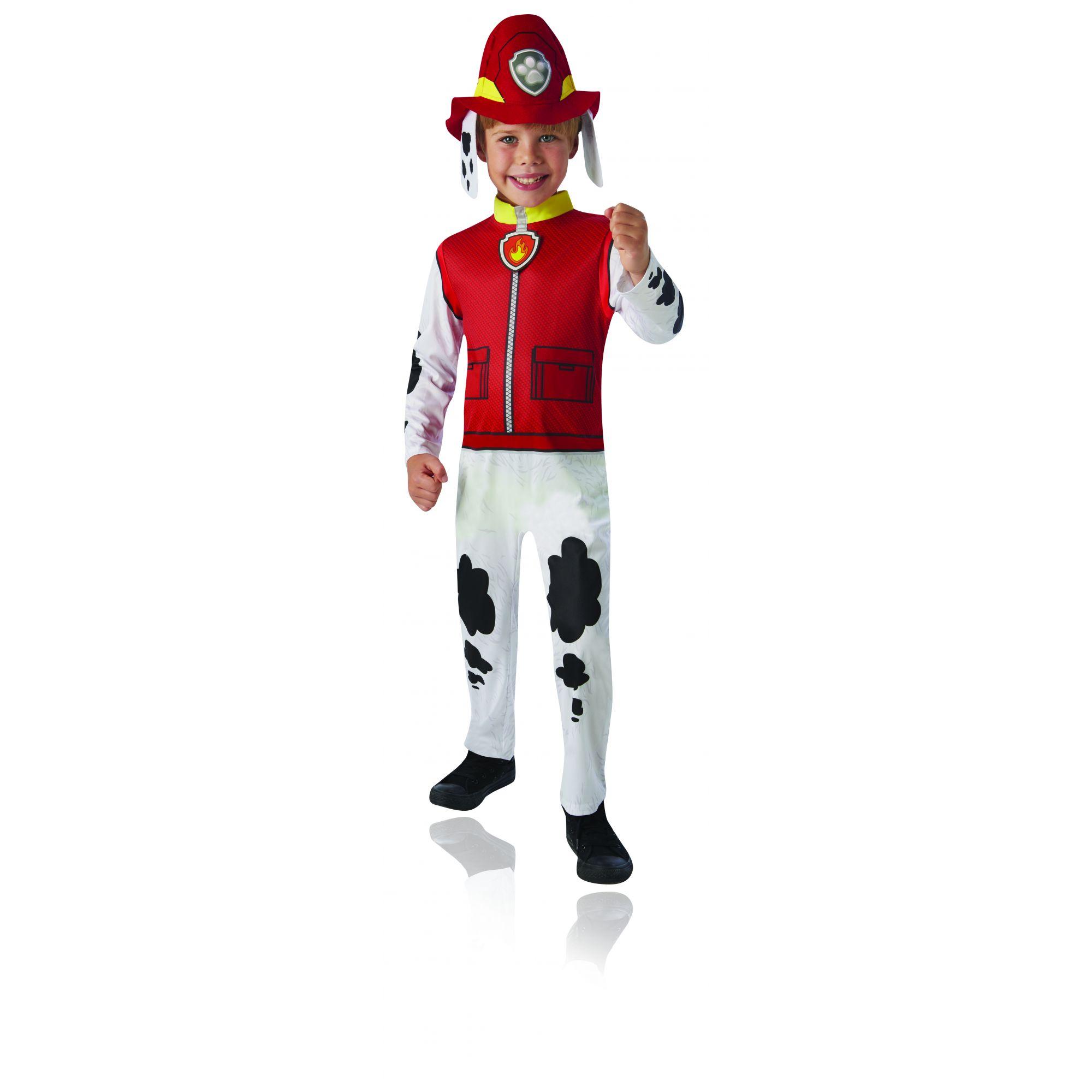Costume Paw Patrol Marshall bambino 2/3 anni