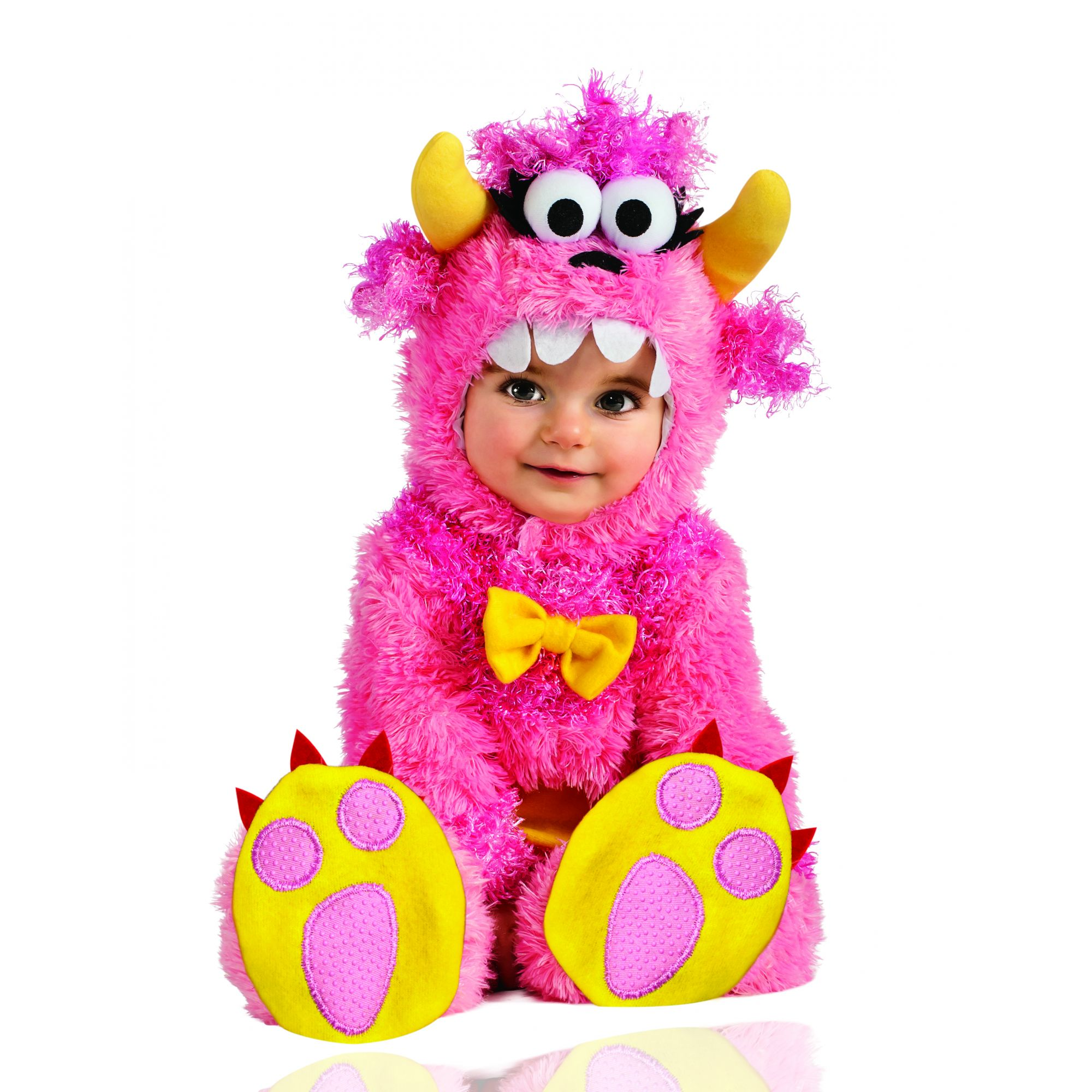 Costume pinky winky mostro simpatico bambina 12/18 mesi
