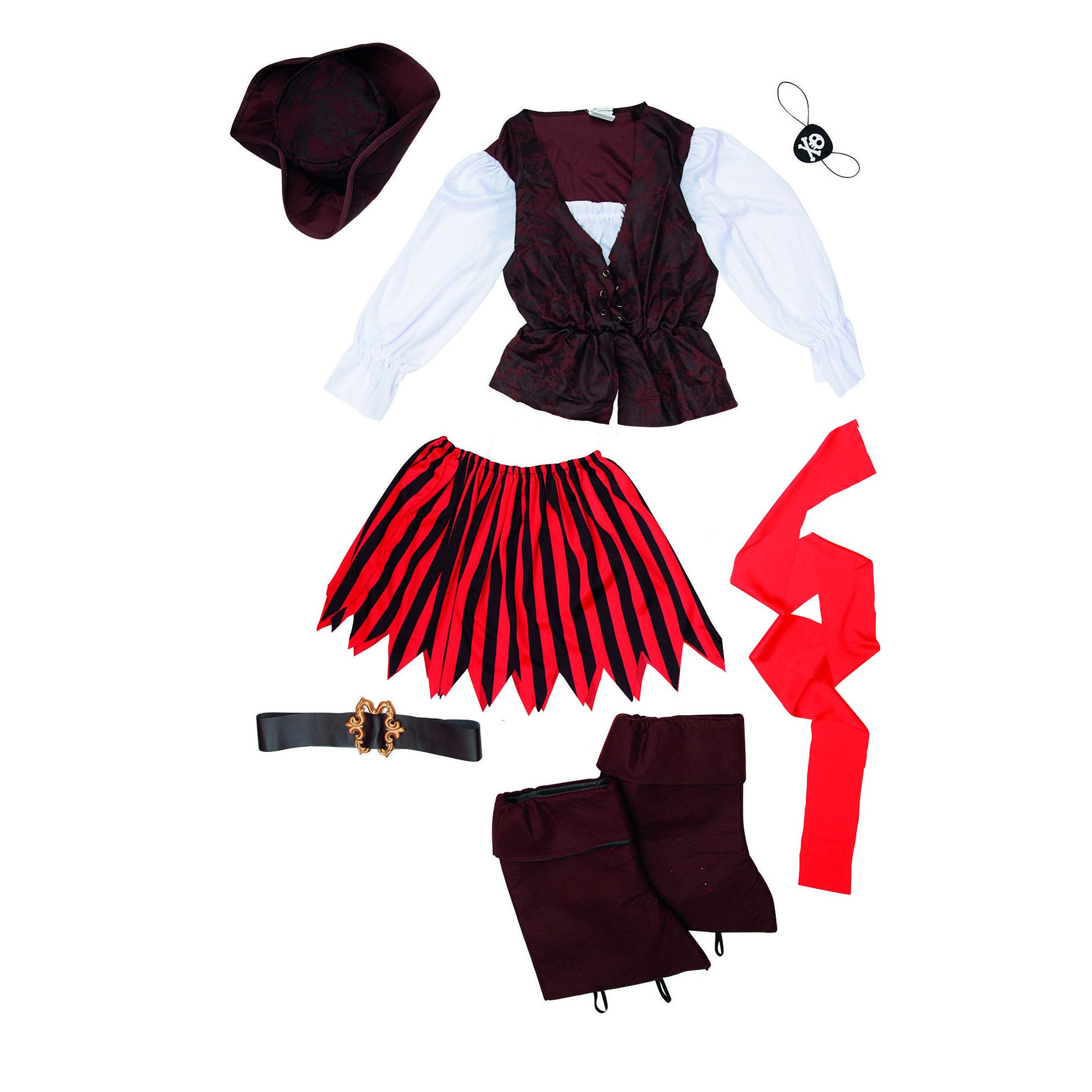 COSTUME DA PIRATESSA    FANCY WORLD