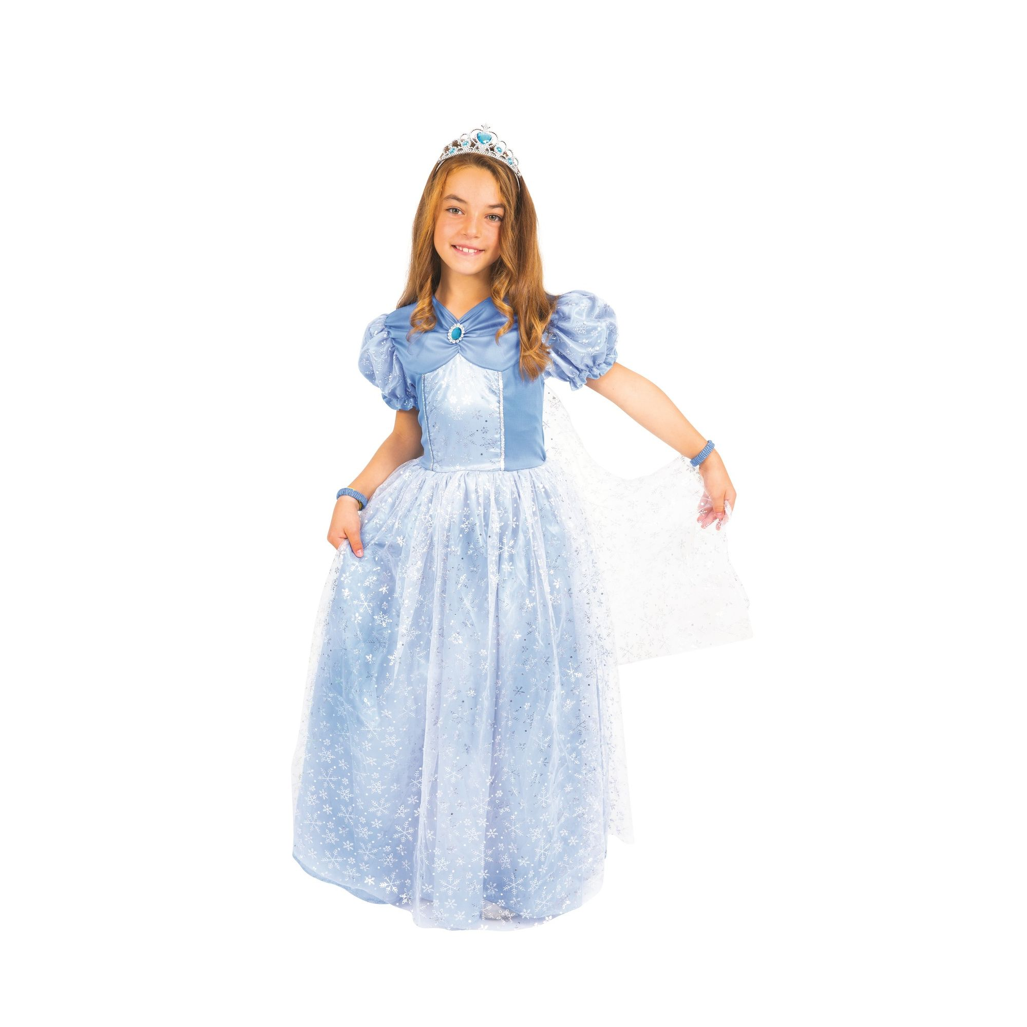 COSTUME DA PRINCIPESSA DEL GHIACCIO FANCY WORLD