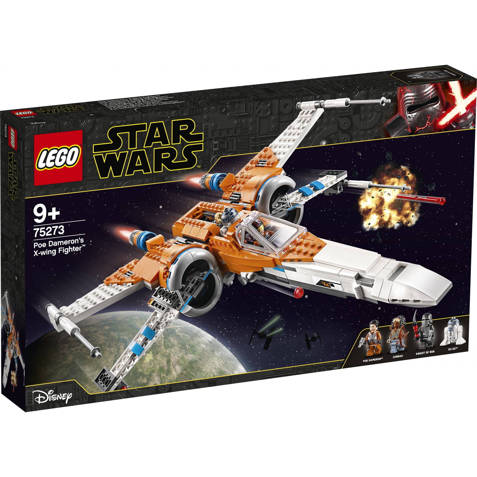 LEGO Star Wars Episode IX X-wing Fighter di Poe Dameron - 75273