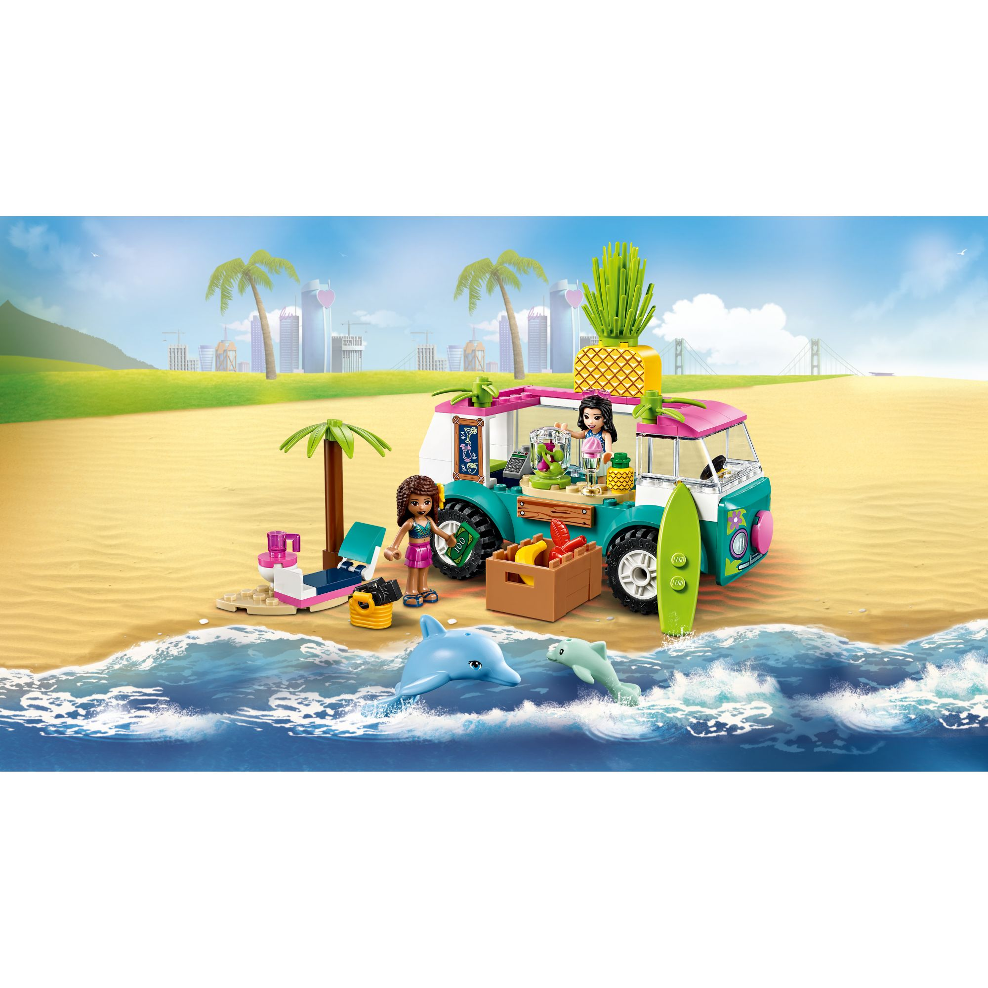LEGO FRIENDS  LEGO Friends Il furgone dei frullati - 41397