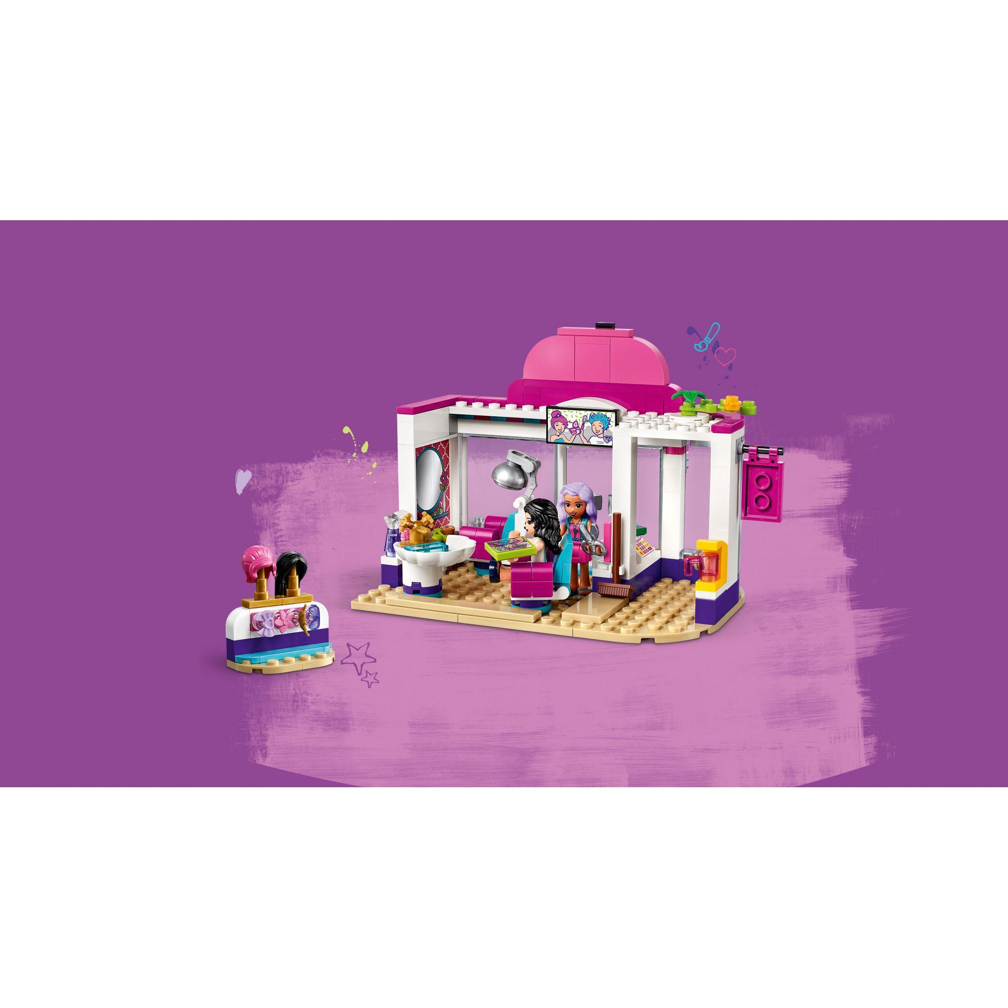 LEGO FRIENDS   LEGO Friends Il salone di bellezza di Heartlake City - 41391